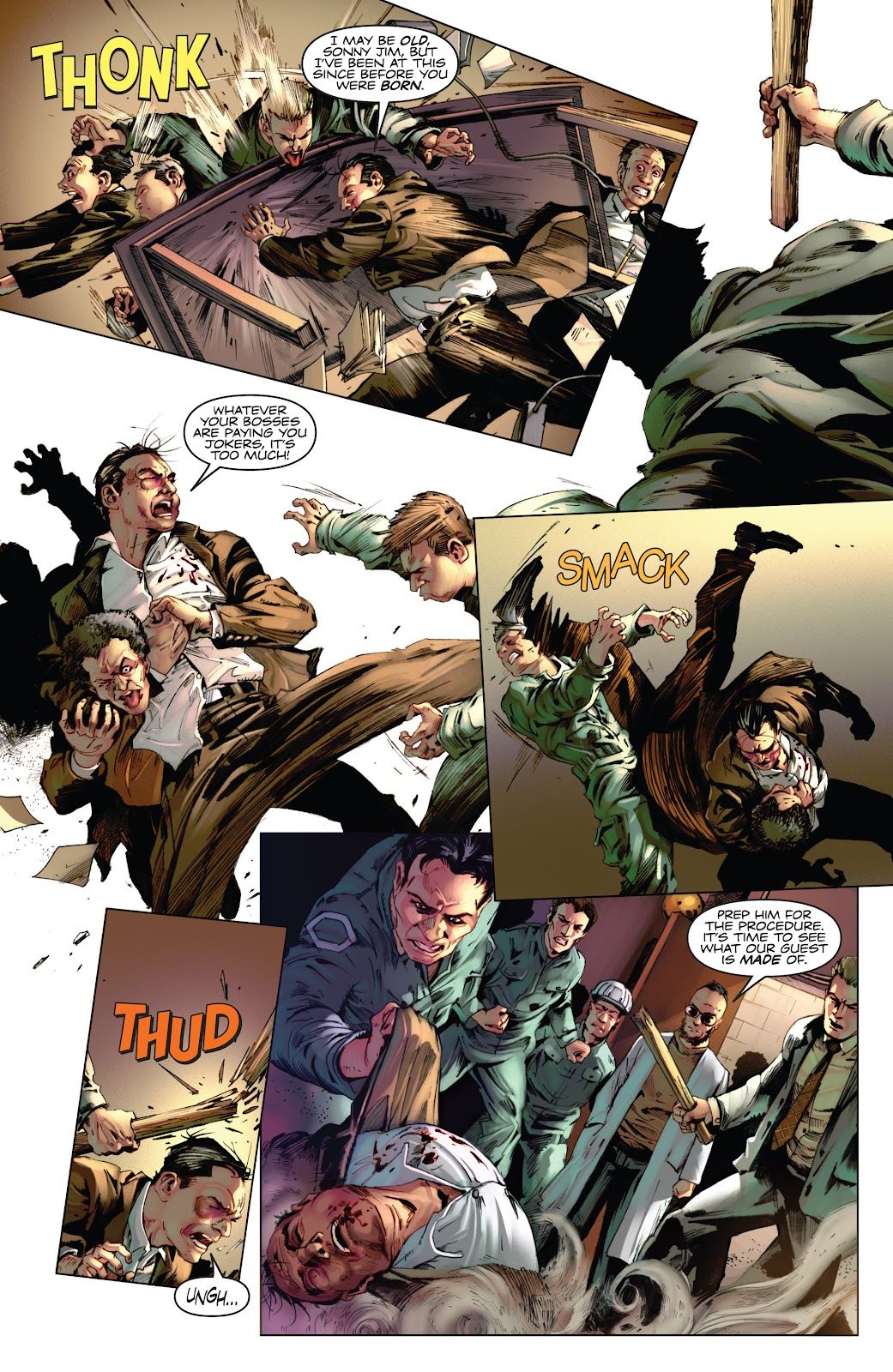Read online Codename: Action comic -  Issue #3 - 6