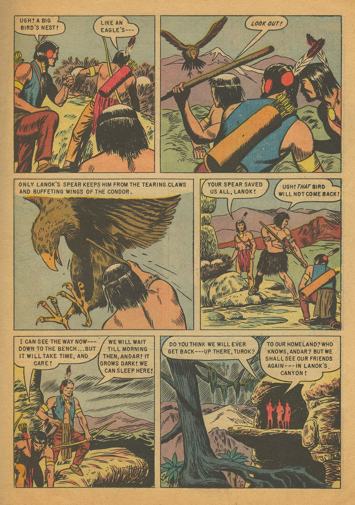 Read online Turok, Son of Stone comic -  Issue #4 - 19