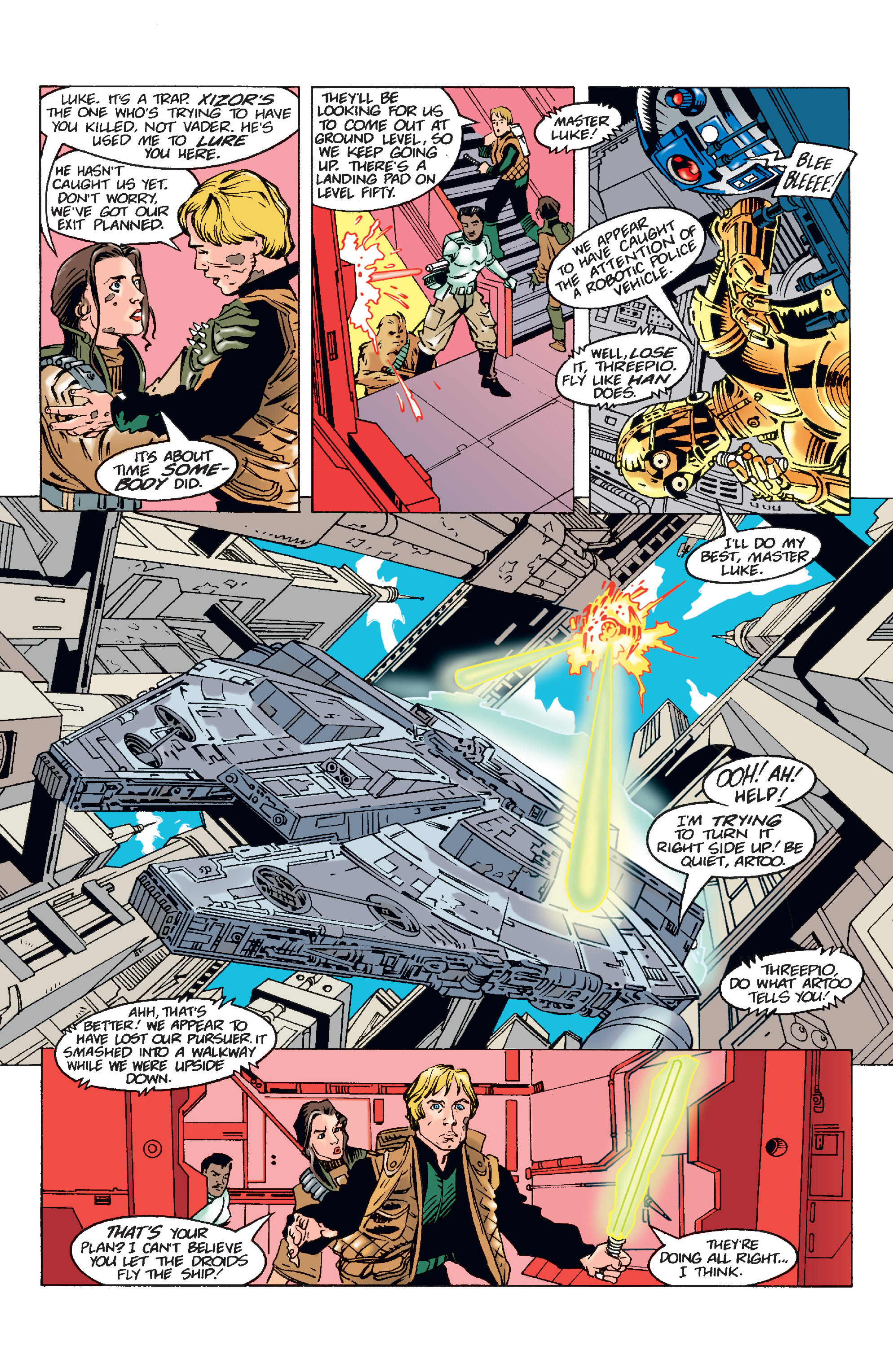 Read online Star Wars Omnibus comic -  Issue # Vol. 11 - 136