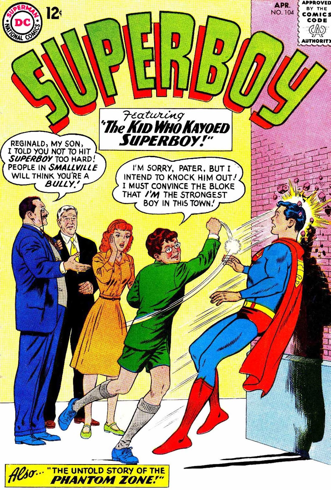 Superboy (1949) issue 104 - Page 1