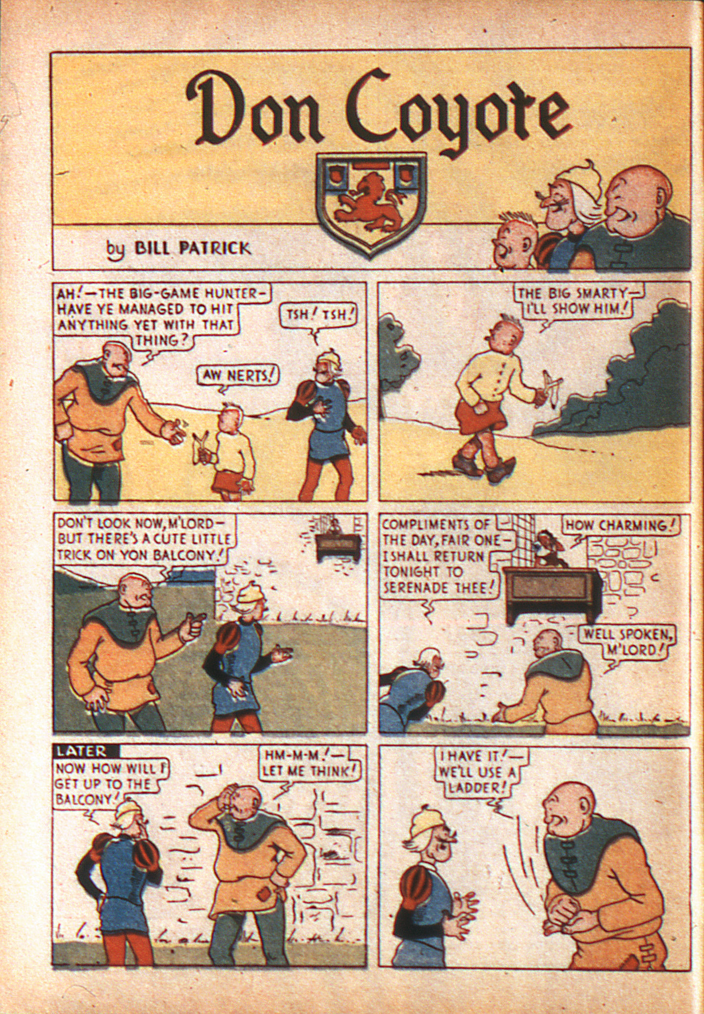 Read online Adventure Comics (1938) comic -  Issue #8 - 7