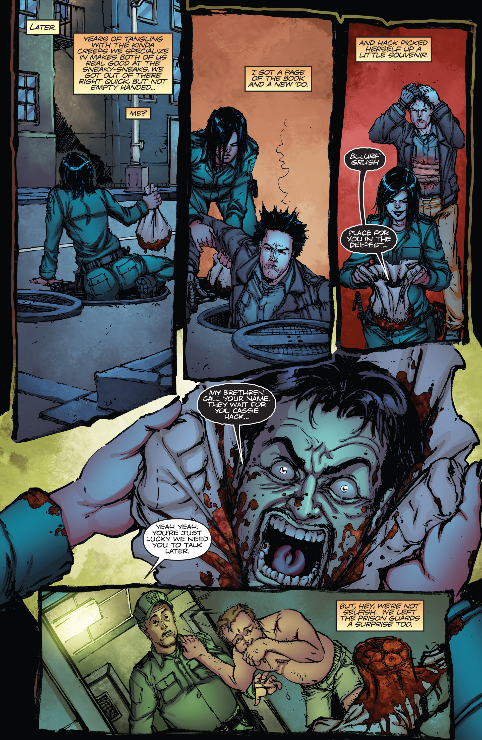 Read online Army of Darkness vs. Hack/Slash comic -  Issue #2 - 18