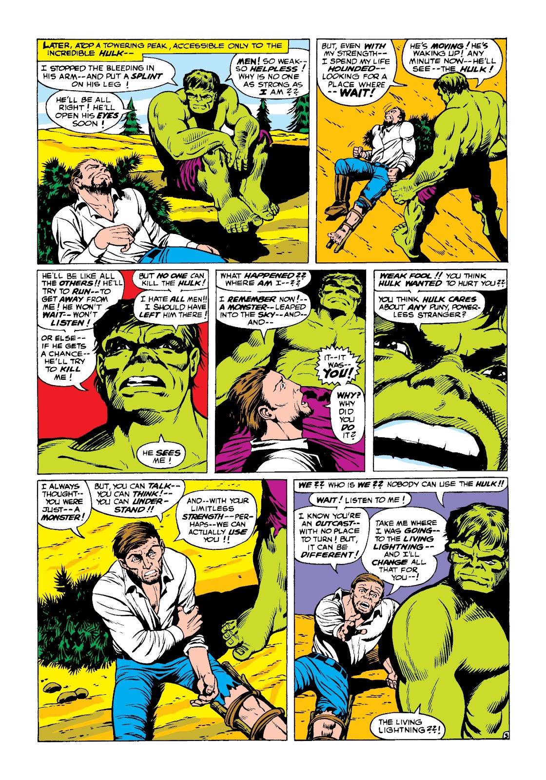 Read online Marvel Masterworks: The Incredible Hulk comic -  Issue # TPB 3 (Part 2) - 97