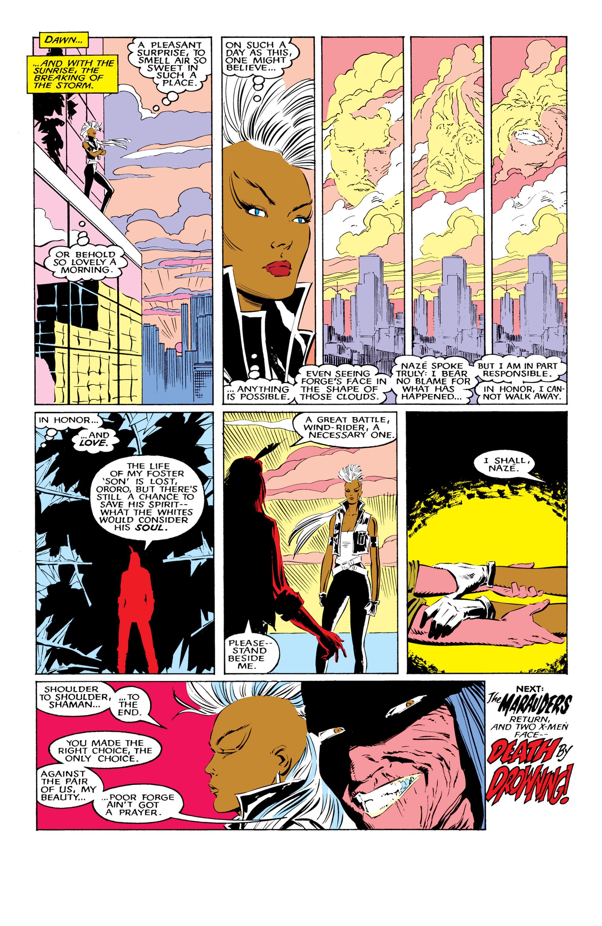 Read online Uncanny X-Men (1963) comic -  Issue #220 - 24