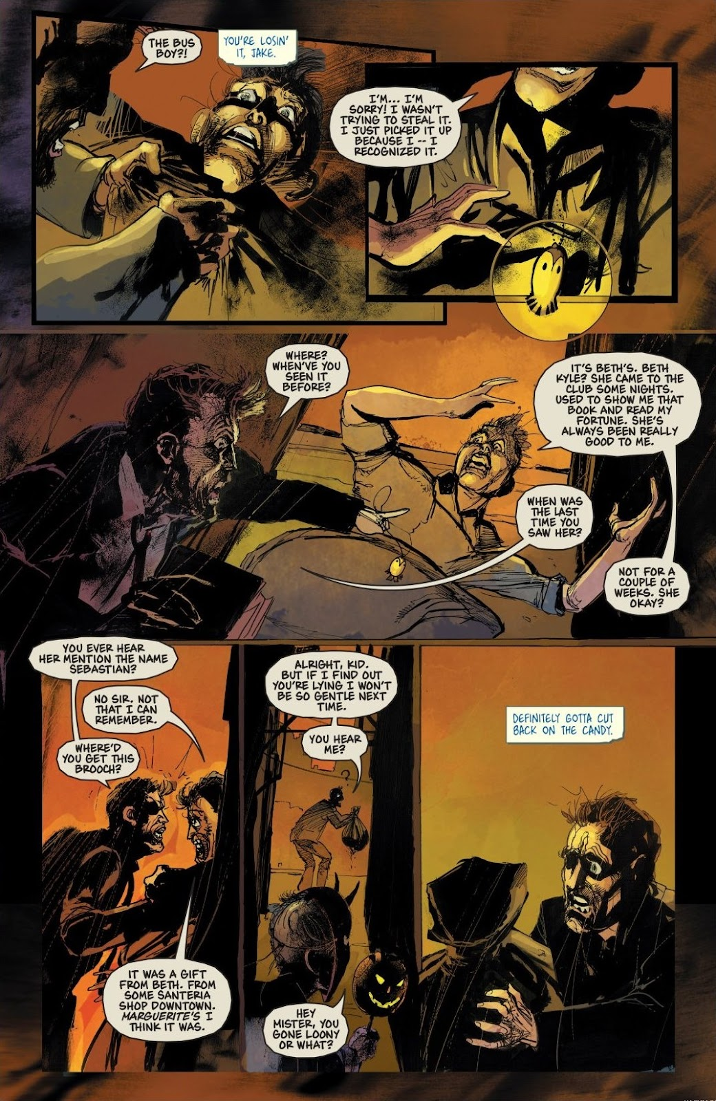 Read online Trick 'r Treat: Days of the Dead comic -  Issue # TPB - 77