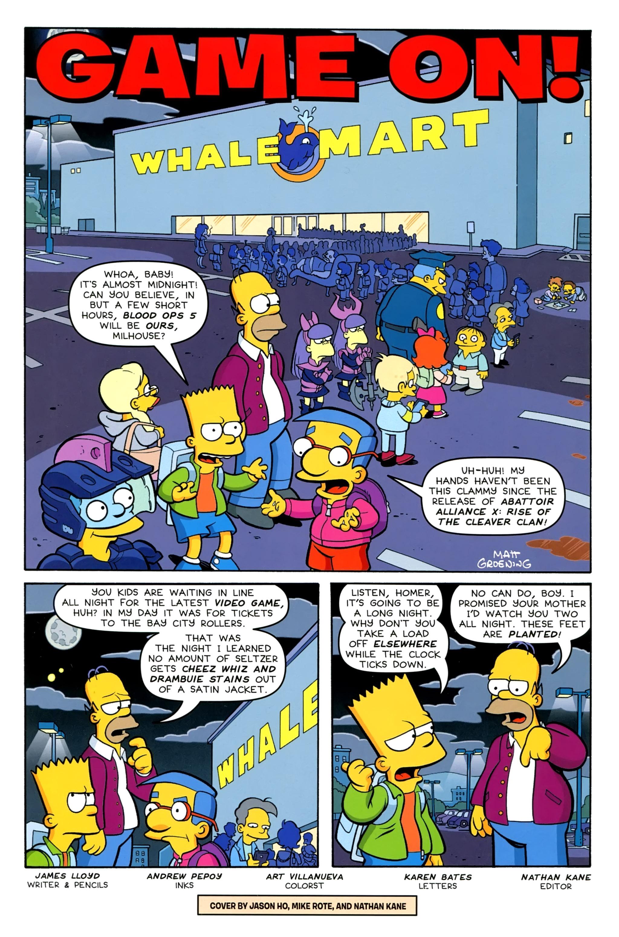 Read online Simpsons Comics comic -  Issue #230 - 3
