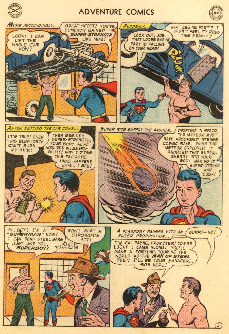 Read online Adventure Comics (1938) comic -  Issue #233 - 5