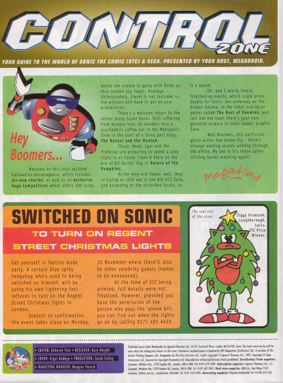 Read online Sonic the Comic comic -  Issue #116 - 2
