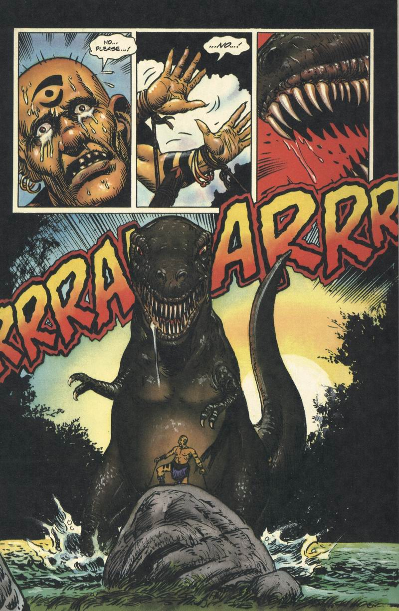 Read online Turok, Dinosaur Hunter (1993) comic -  Issue #9 - 2