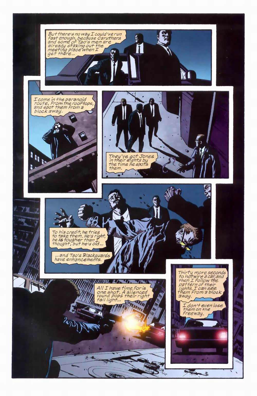 Read online Sleeper comic -  Issue #8 - 16