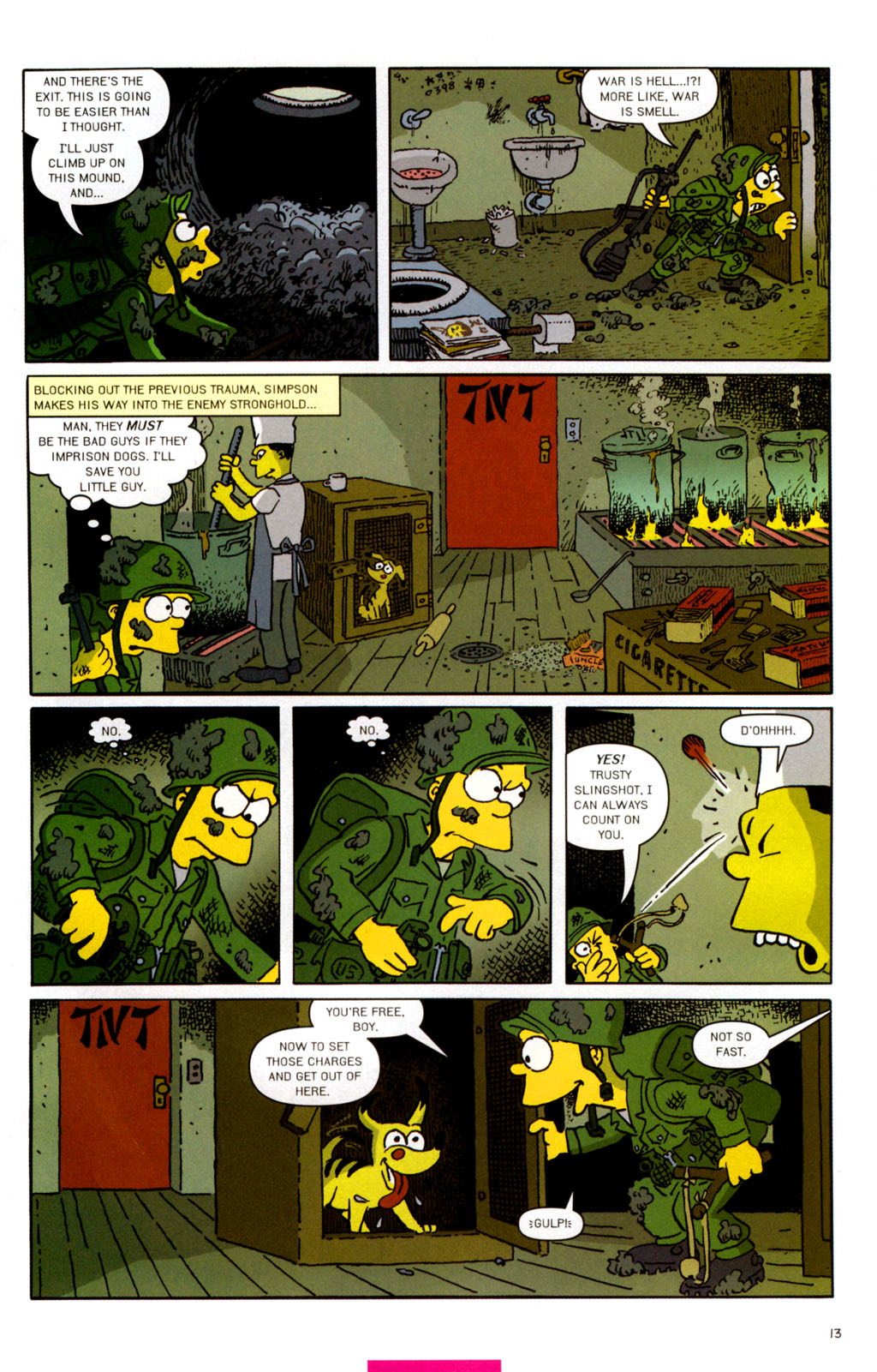 Read online Treehouse of Horror comic -  Issue #11 - 44