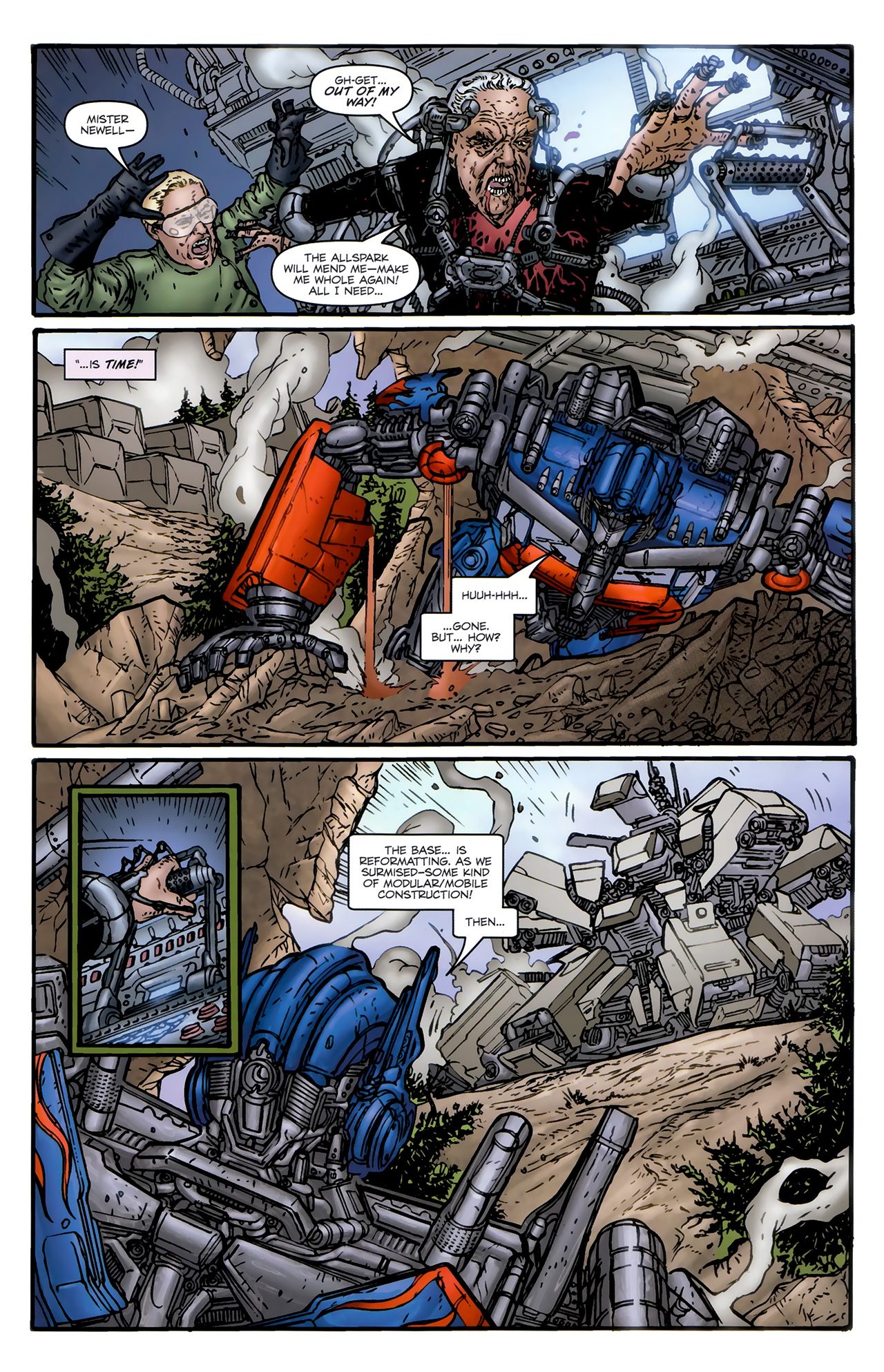 Read online Transformers: Nefarious comic -  Issue #6 - 17