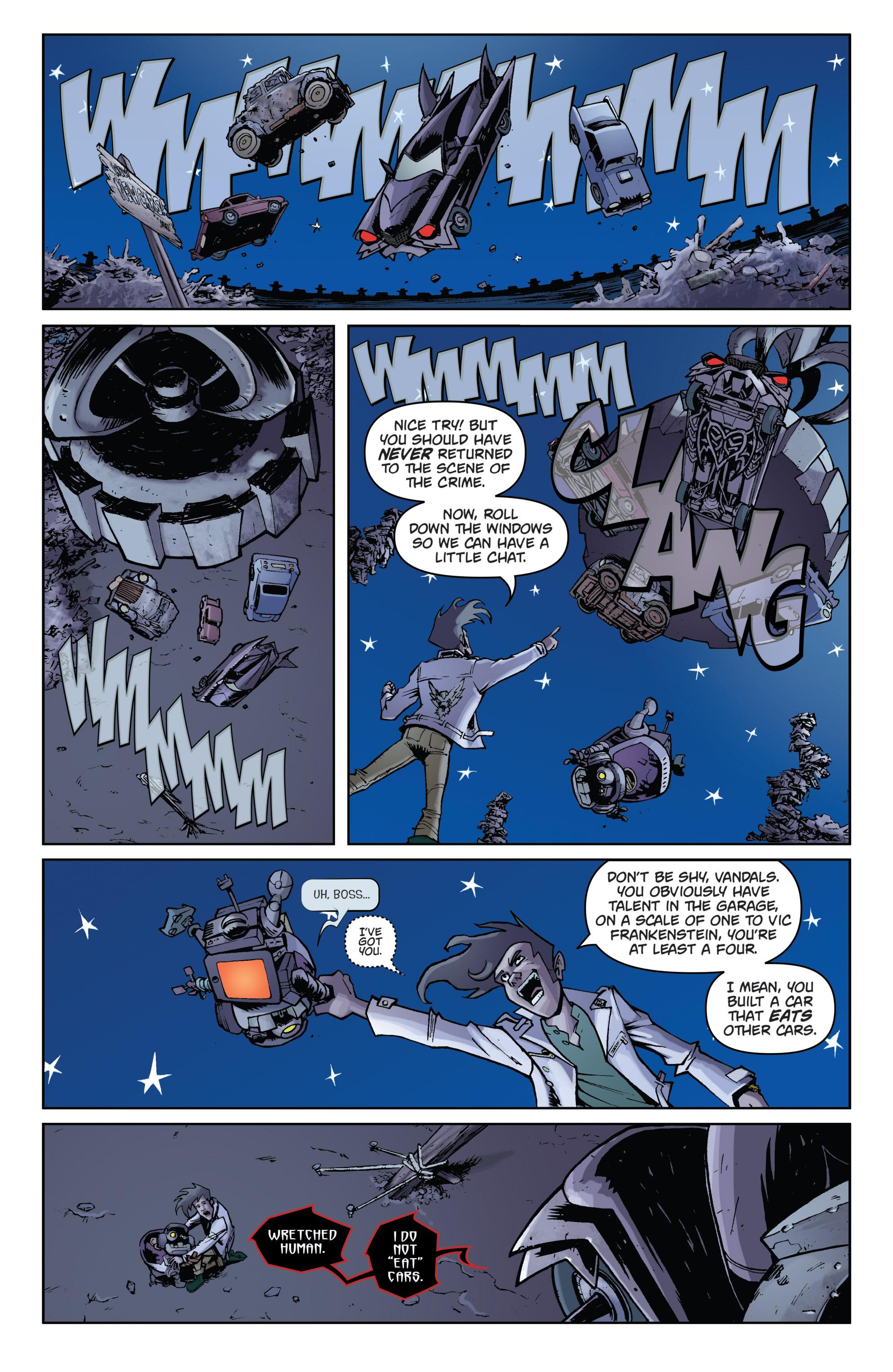 Read online Monster Motors comic -  Issue # Full - 14