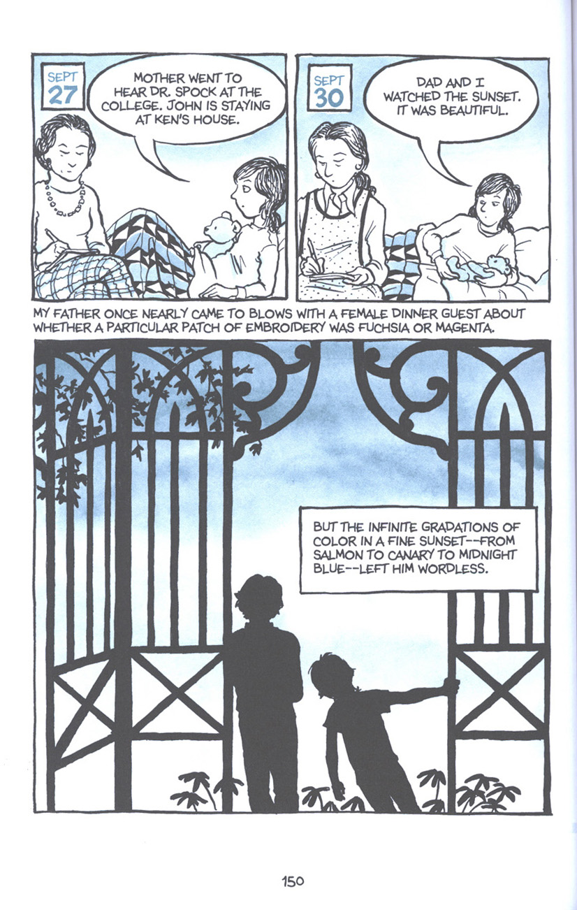Read online Fun Home: A Family Tragicomic comic -  Issue # TPB - 156