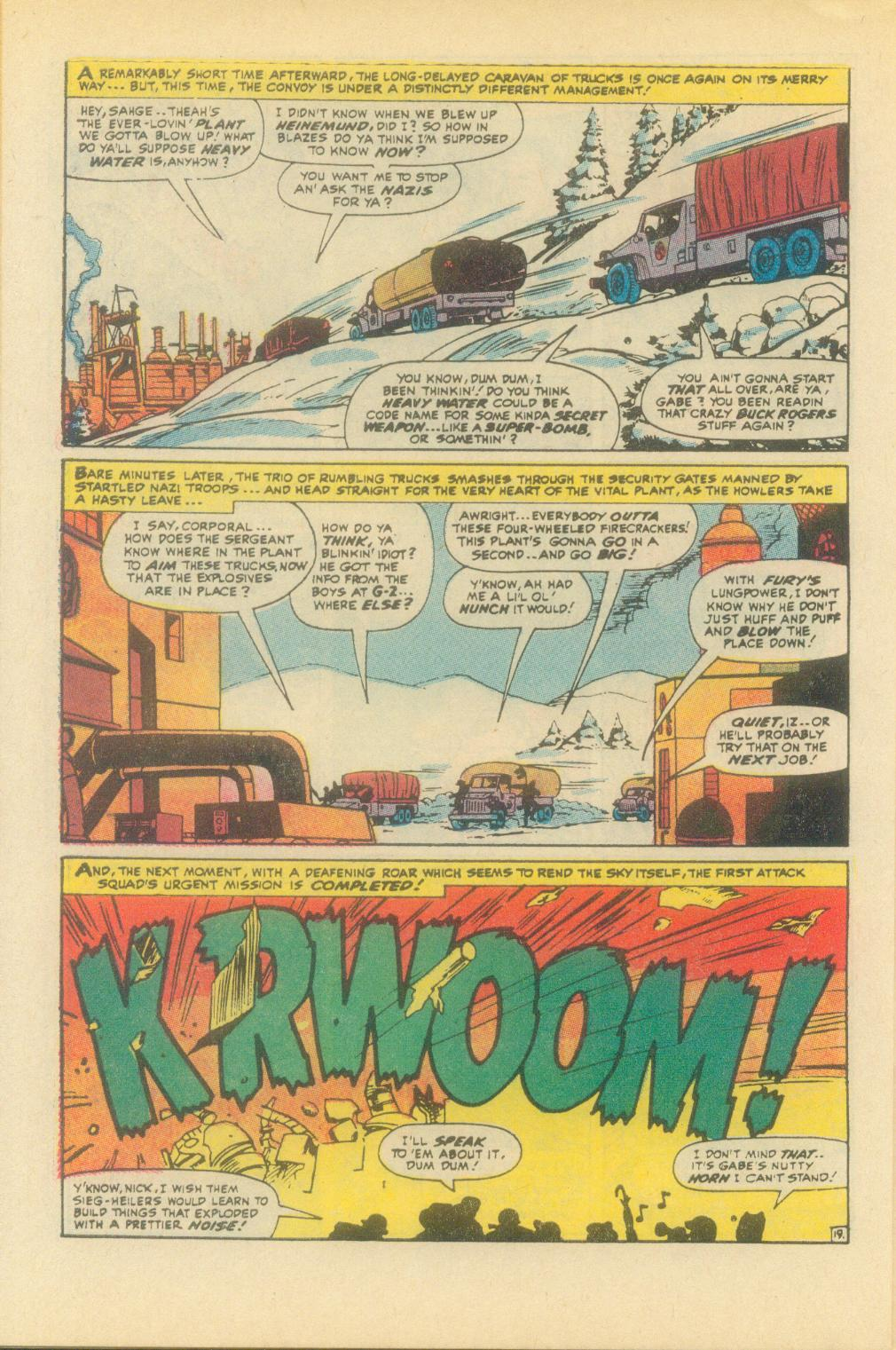 Read online Sgt. Fury comic -  Issue #93 - 30