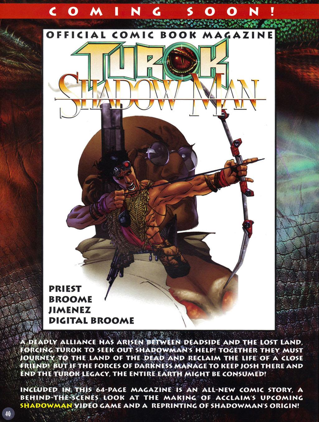 Read online Turok 2: Adon's Curse comic -  Issue # Full - 41