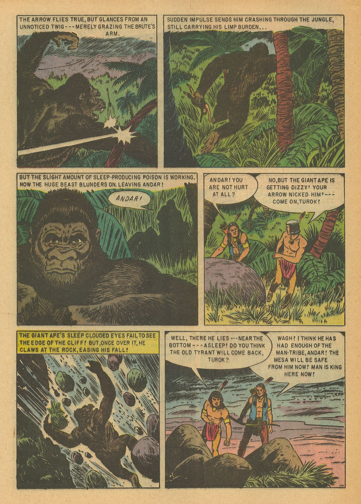 Read online Turok, Son of Stone comic -  Issue #6 - 16