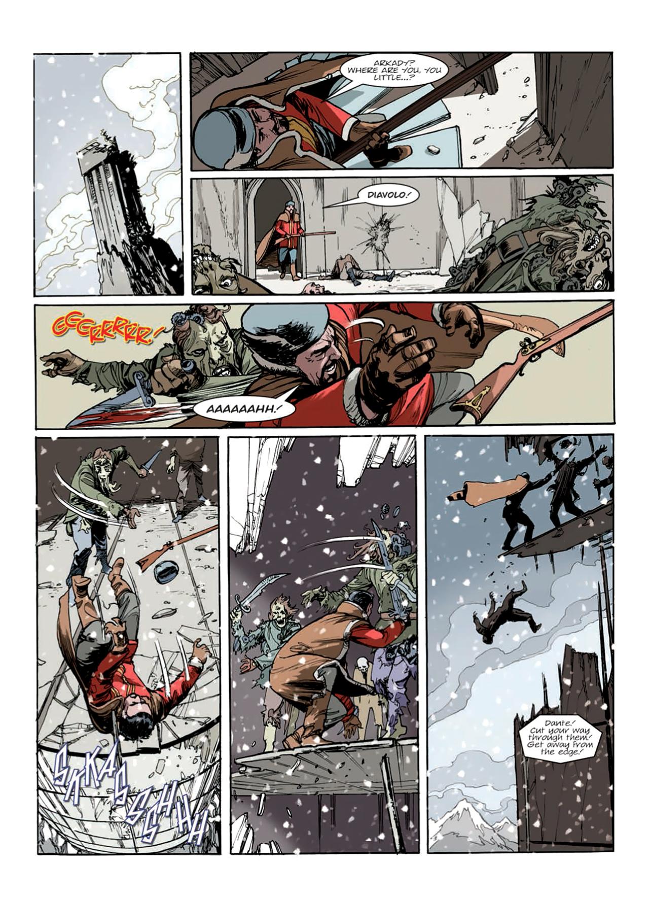 Read online Nikolai Dante comic -  Issue # TPB 9 - 154