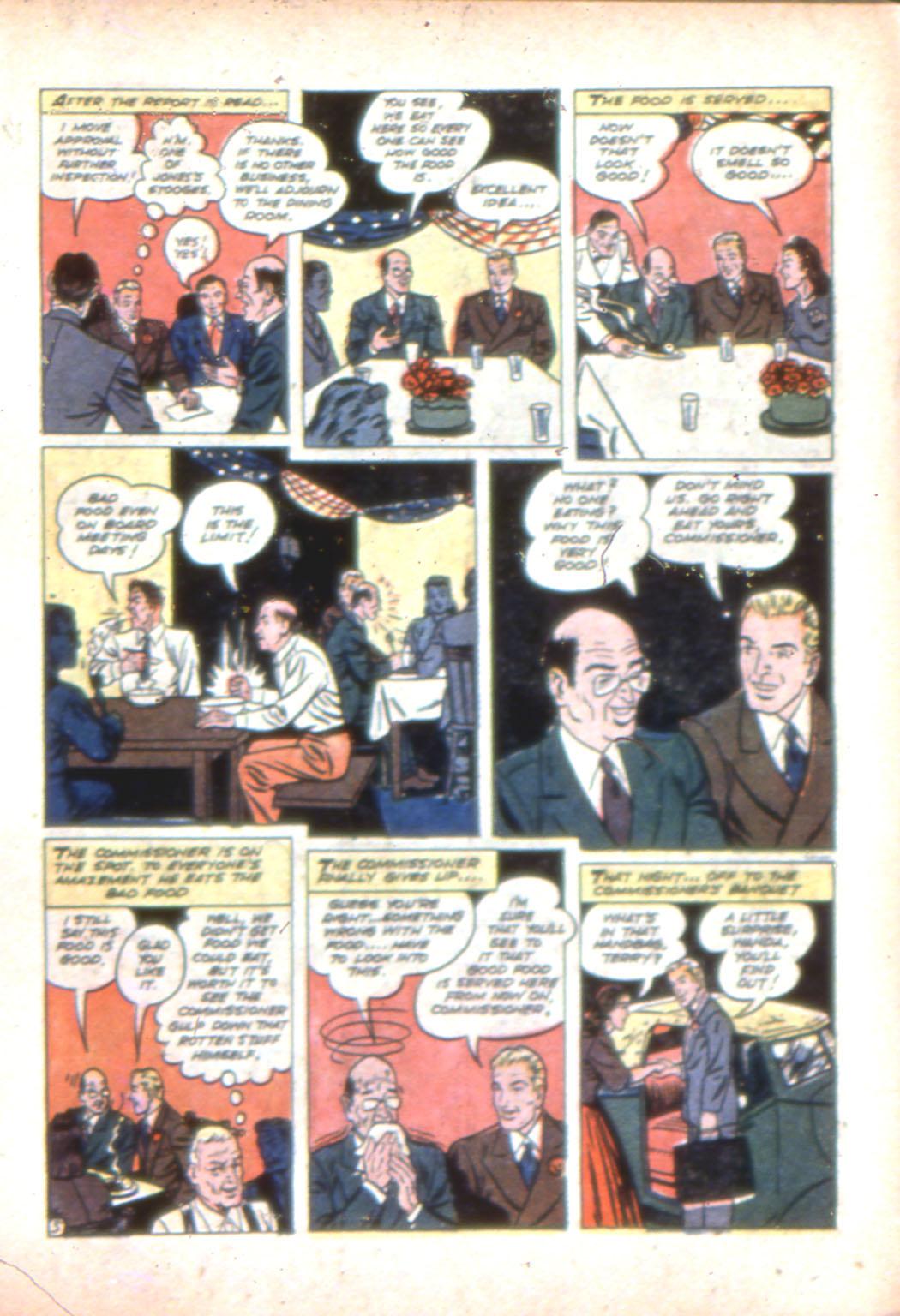 Read online Sensation (Mystery) Comics comic -  Issue #7 - 29