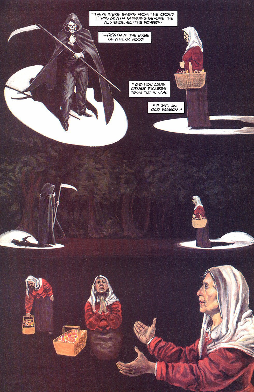 Read online Anne Rice's Interview with the Vampire comic -  Issue #8 - 9