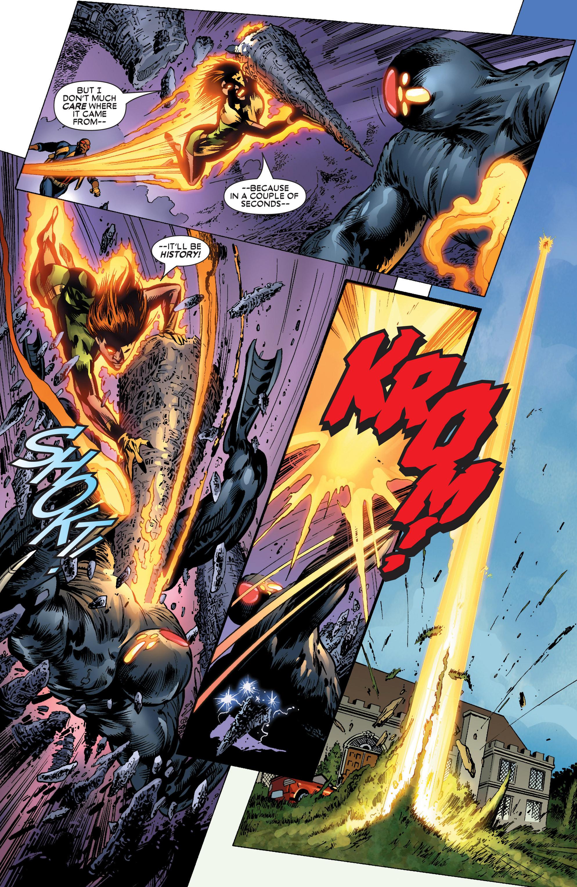 Read online Uncanny X-Men (1963) comic -  Issue #445 - 21