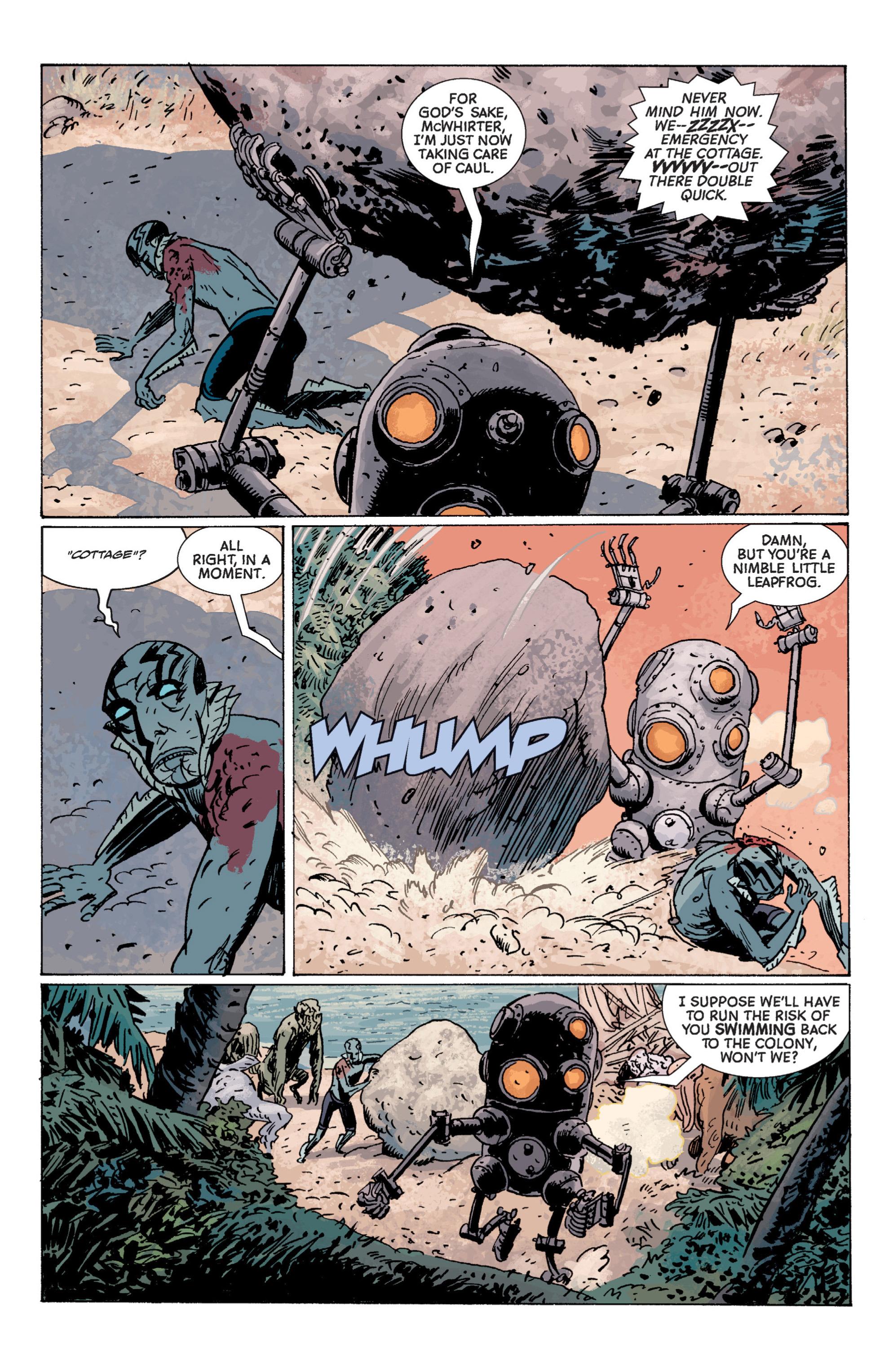 Read online B.P.R.D. (2003) comic -  Issue # TPB 7 - 115