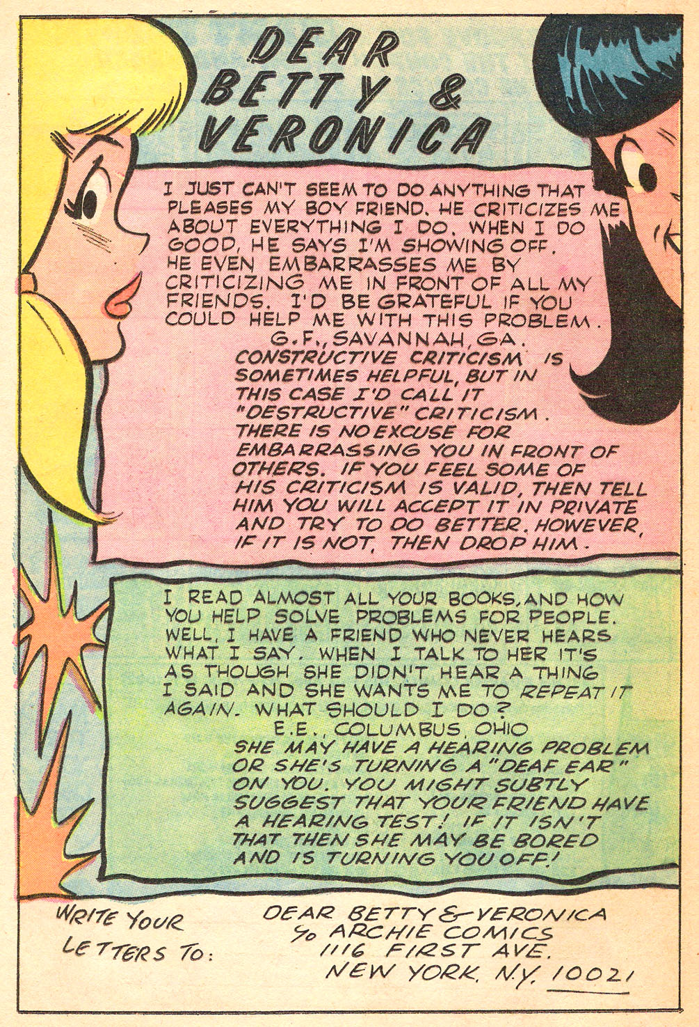 Read online Archie's Girls Betty and Veronica comic -  Issue #213 - 20