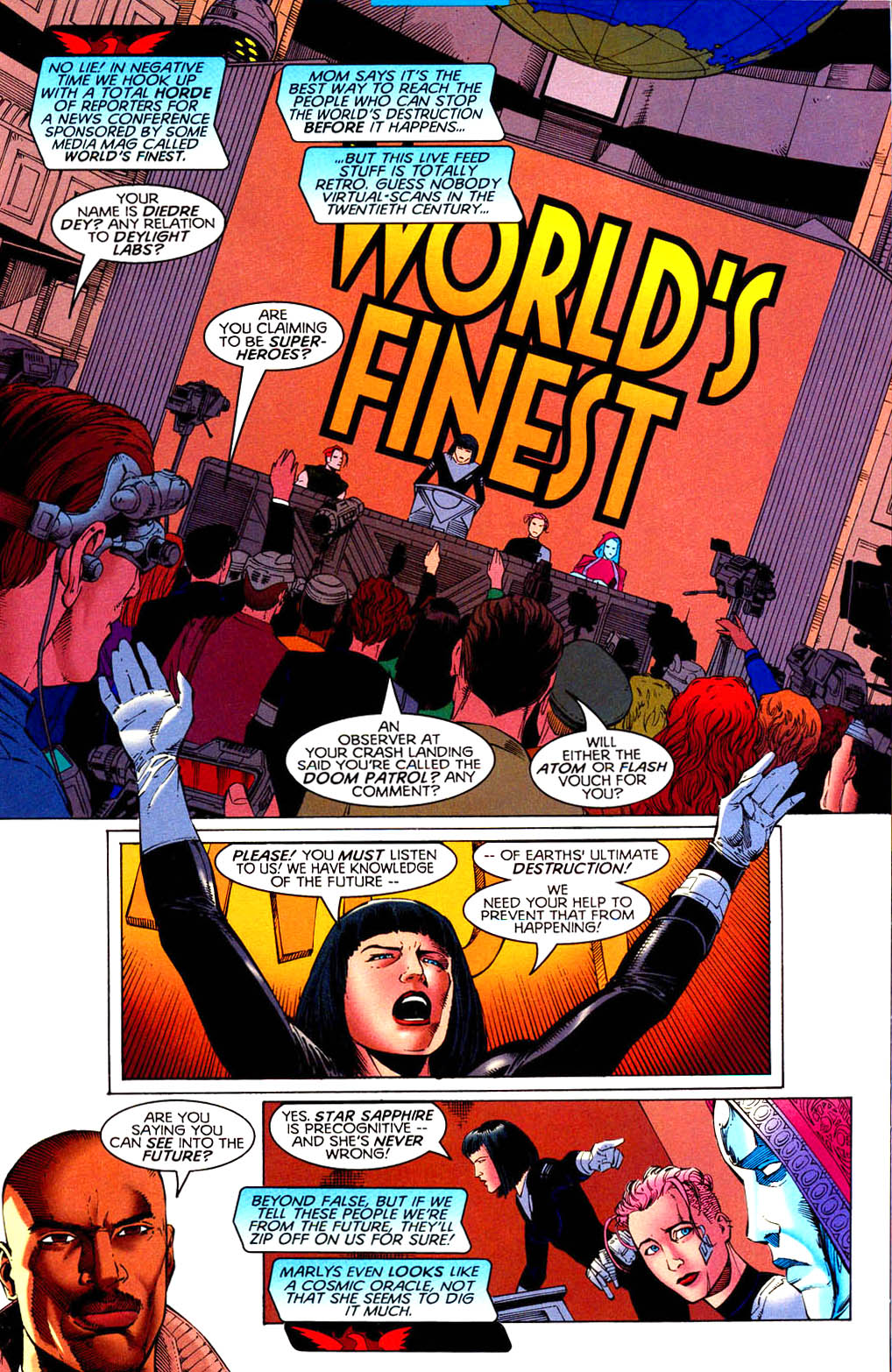 Read online Tangent Comics/ Doom Patrol comic -  Issue # Full - 18