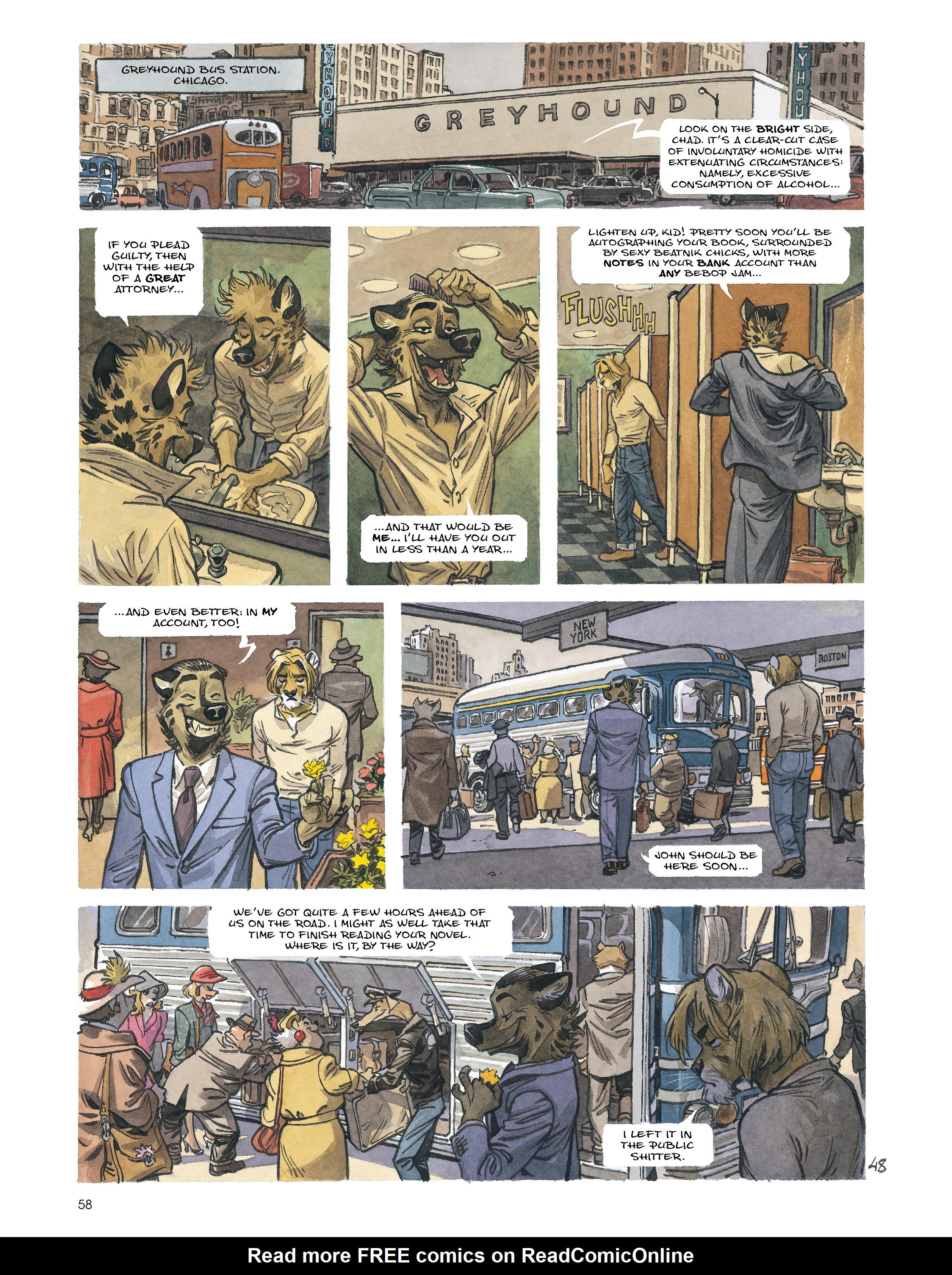 Read online Blacksad: Amarillo comic -  Issue # Full - 57