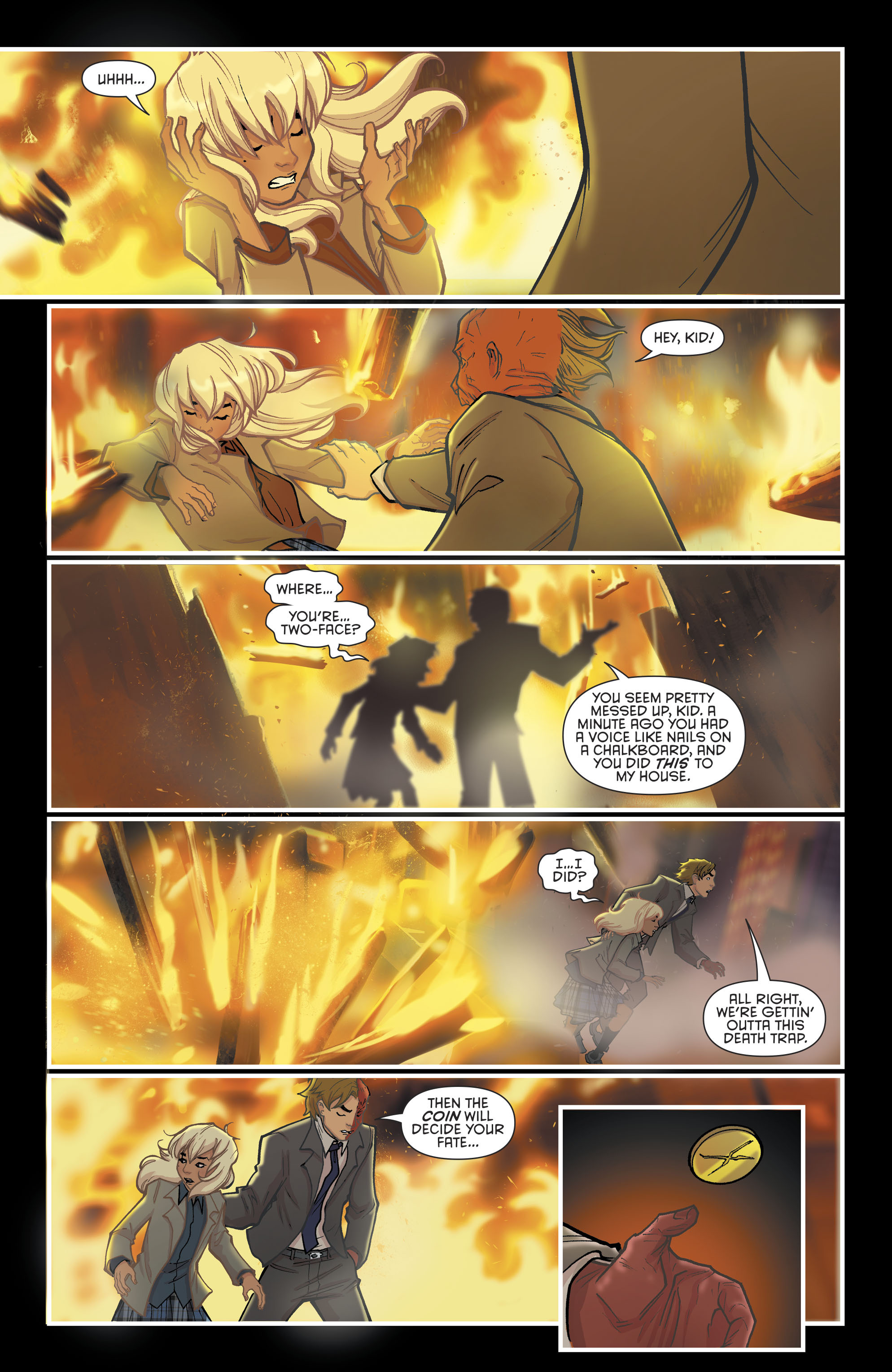 Read online Gotham Academy: Second Semester comic -  Issue #9 - 15