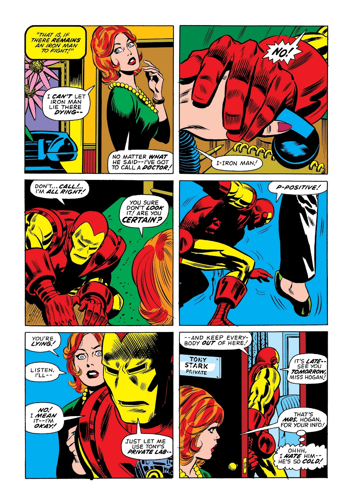 Read online Marvel Masterworks: The Invincible Iron Man comic -  Issue # TPB 9 (Part 1) - 99