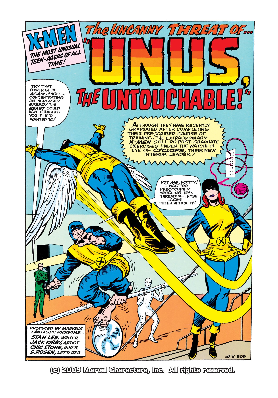 Uncanny X-Men (1963) 8 Page 1