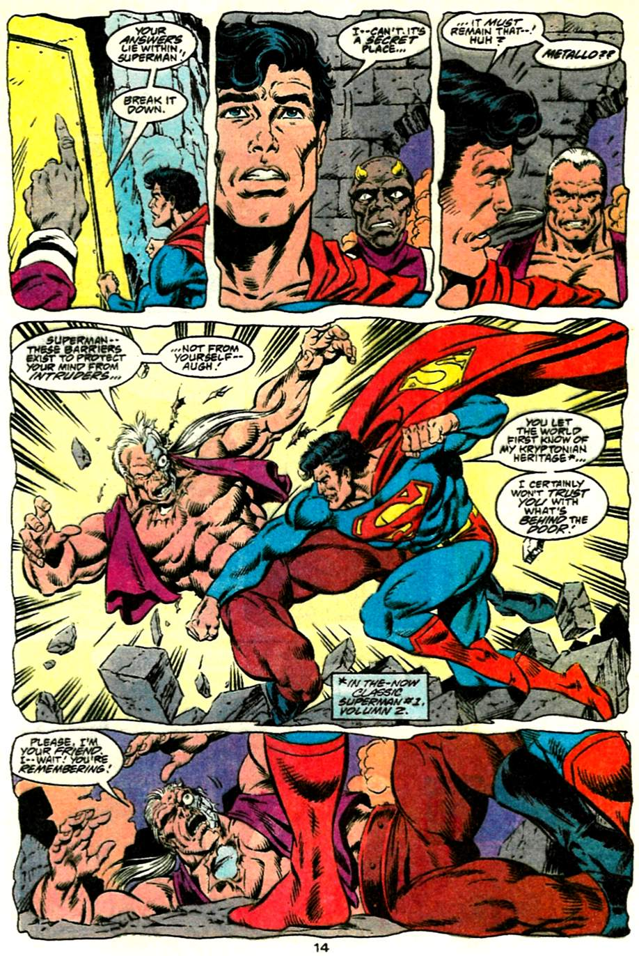 Read online Adventures of Superman (1987) comic -  Issue #485 - 15
