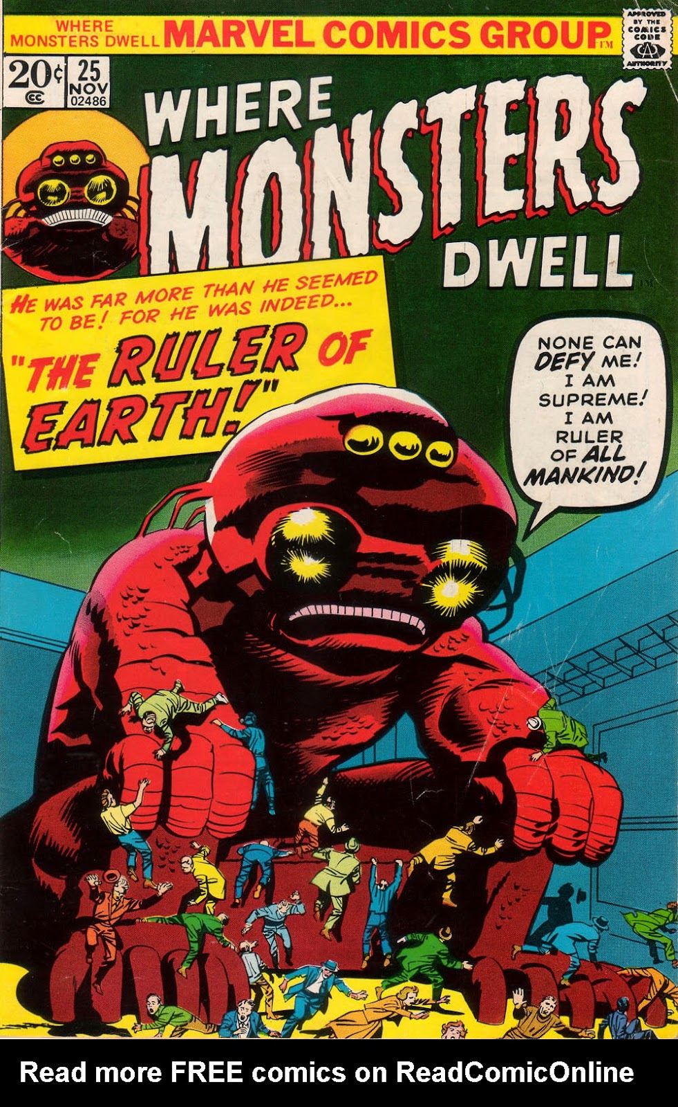 Where Monsters Dwell (1970) issue 25 - Page 1