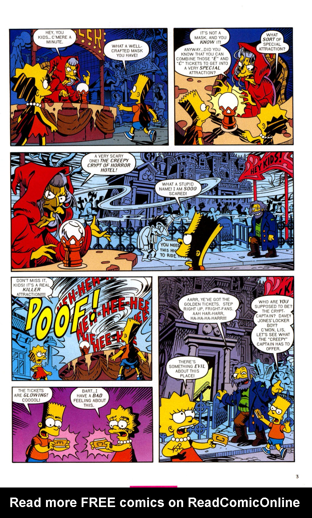 Read online Treehouse of Horror comic -  Issue #11 - 34