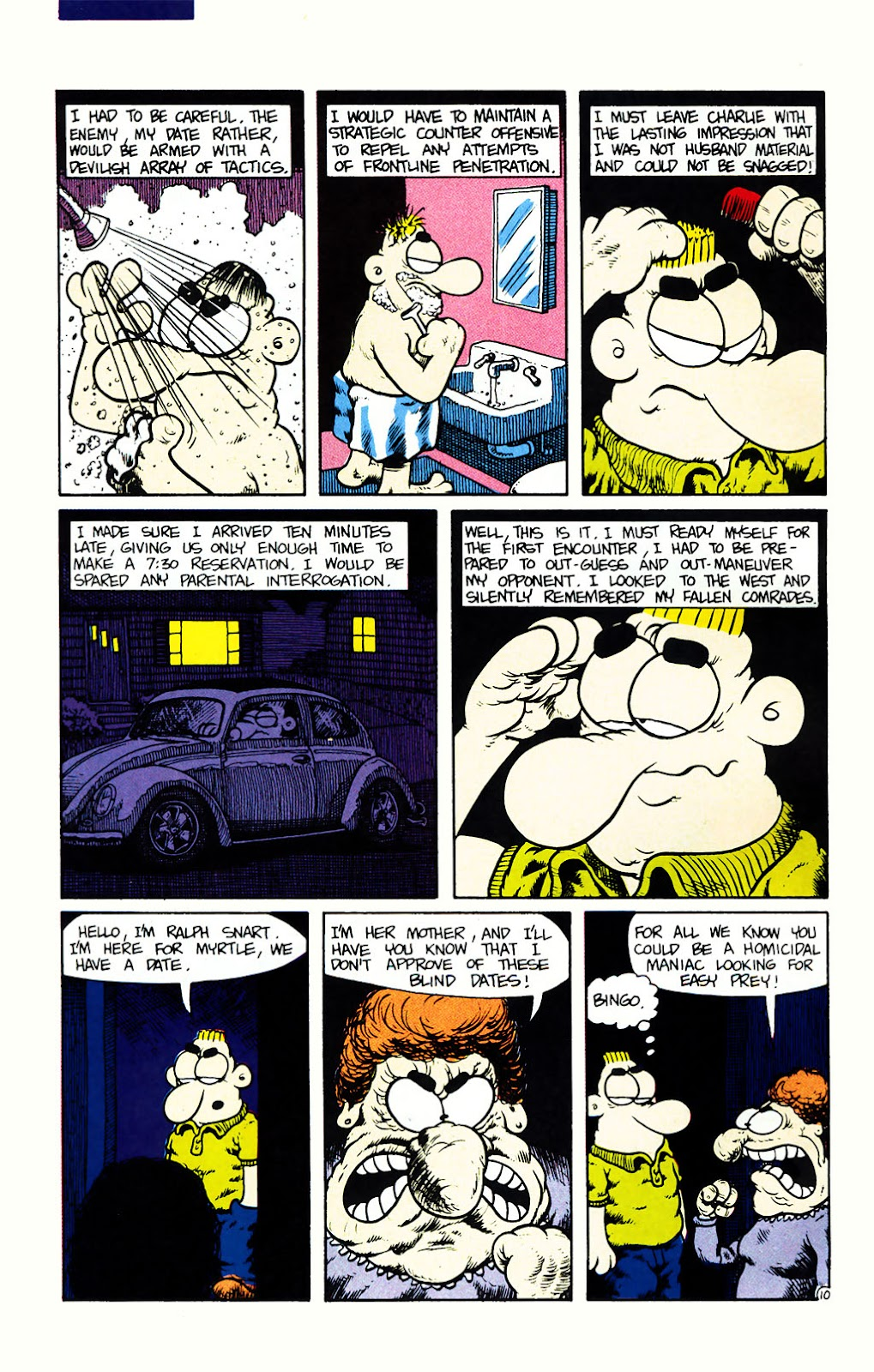 Ralph Snart Adventures (1988) issue 7 - Page 11