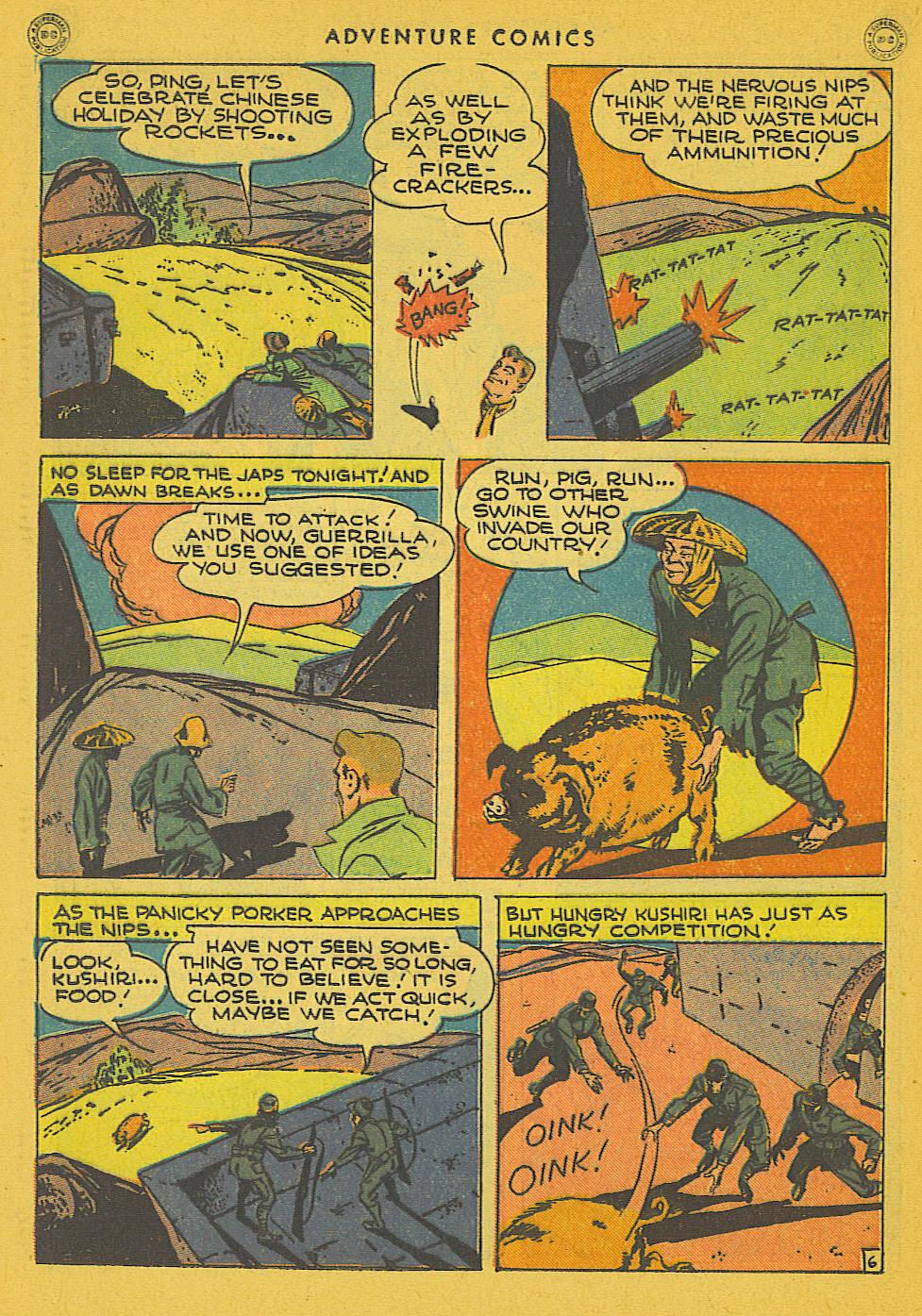 Read online Adventure Comics (1938) comic -  Issue #102 - 38
