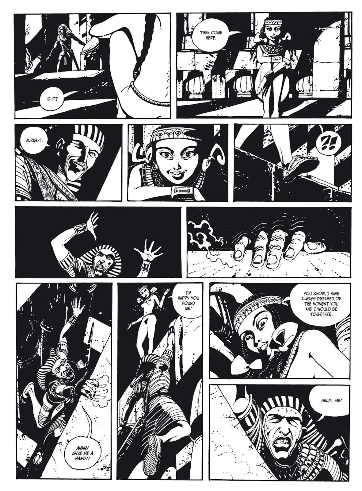 Read online The Egyptian Princesses comic -  Issue # TPB 1 (Part 1) - 39
