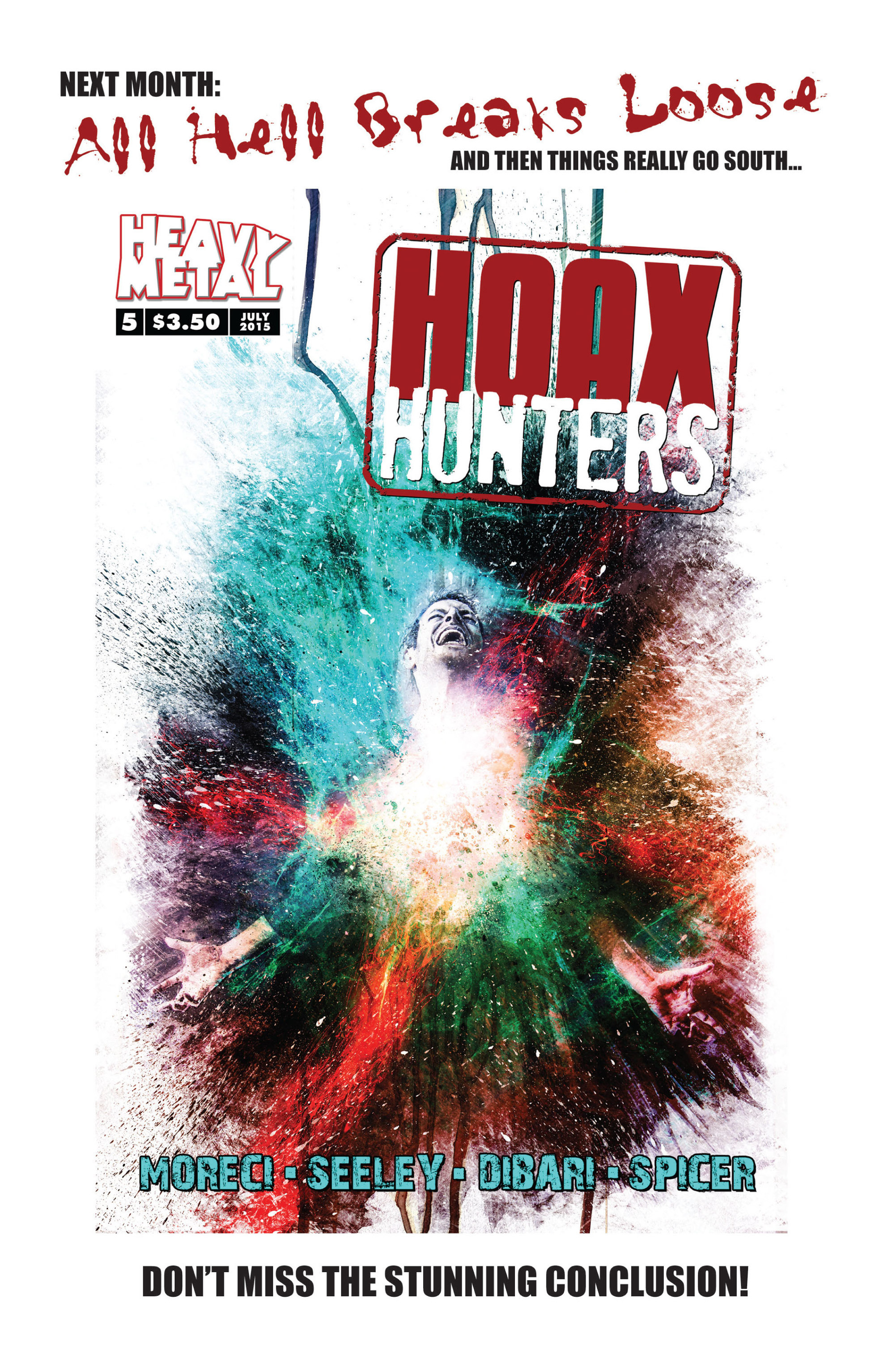 Read online Hoax Hunters (2015) comic -  Issue #4 - 26