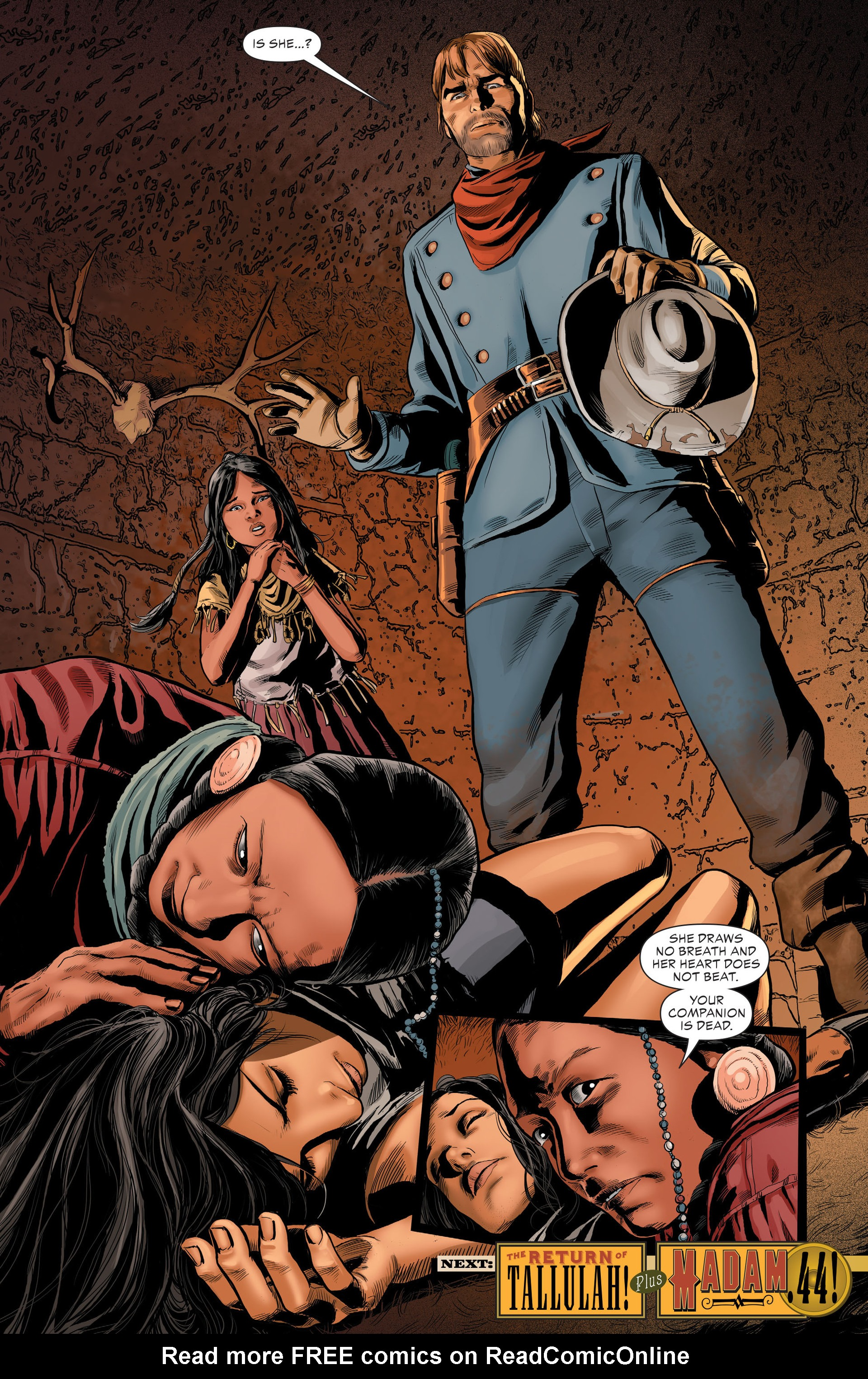 Read online All-Star Western (2011) comic -  Issue #29 - 23