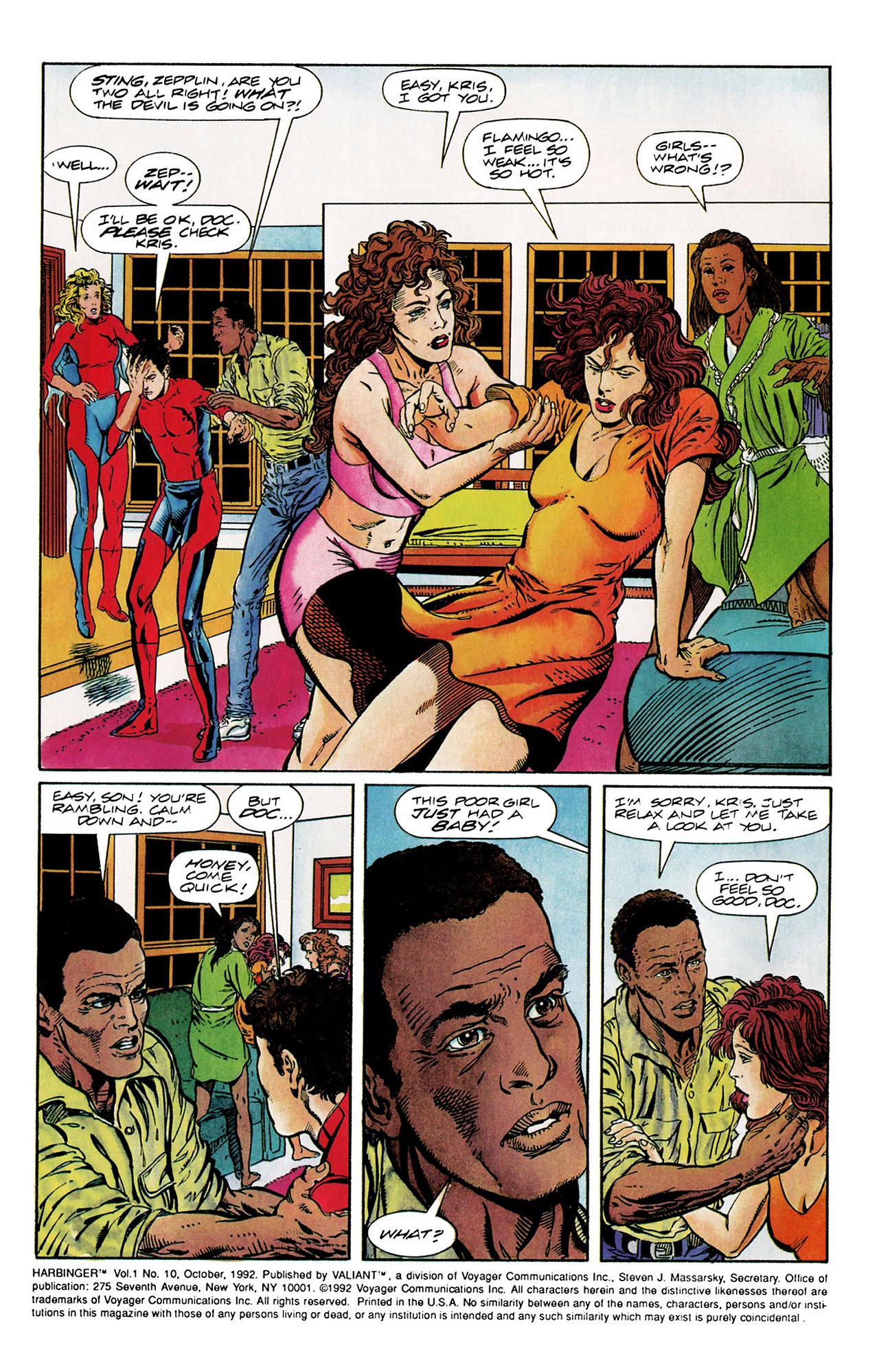 Read online Harbinger (1992) comic -  Issue #10 - 3