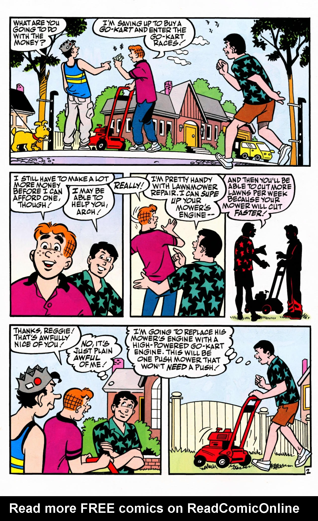 Read online Archie (1960) comic -  Issue #599 - 26