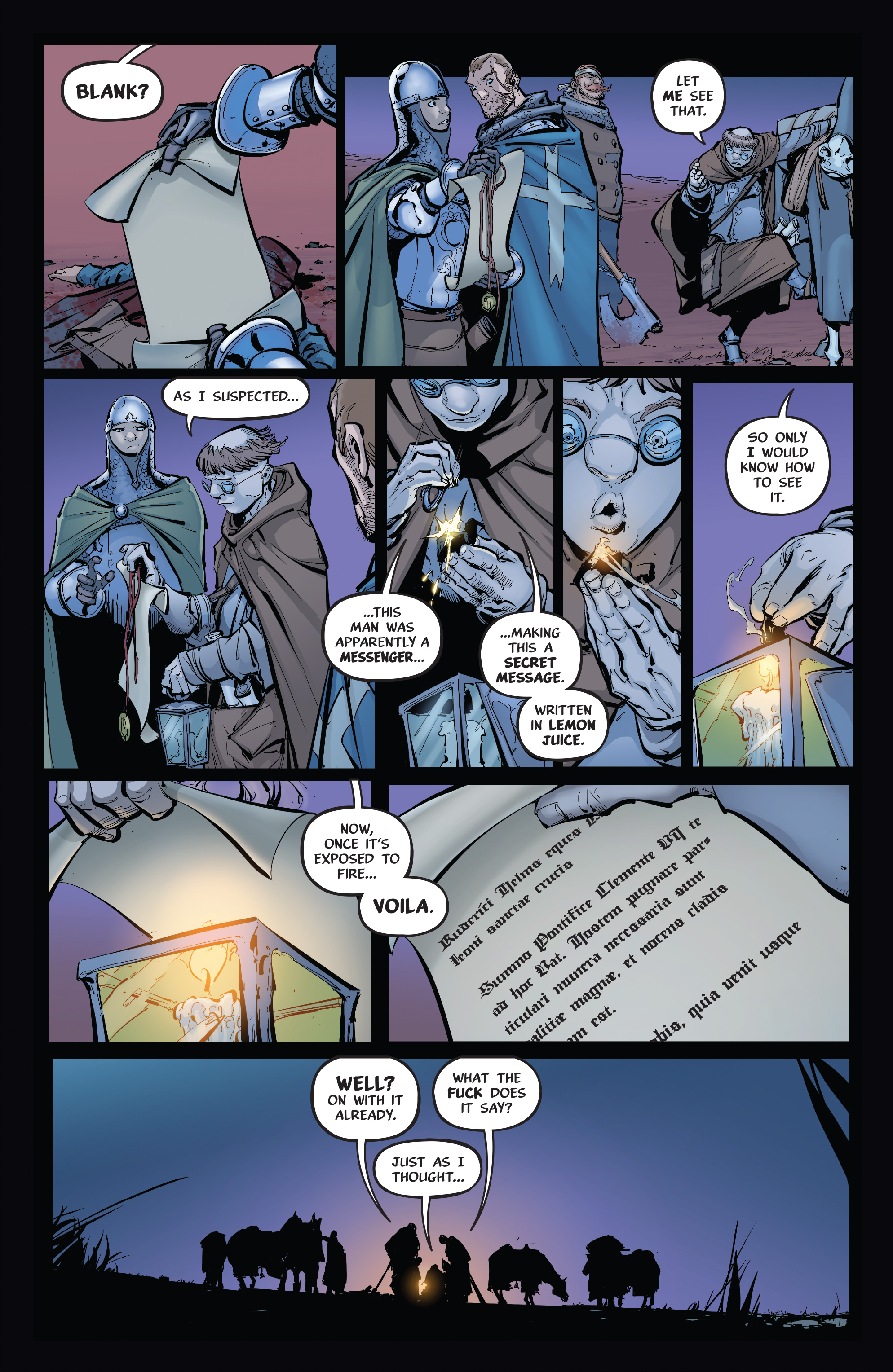 Read online Pestilence comic -  Issue #1 - 21