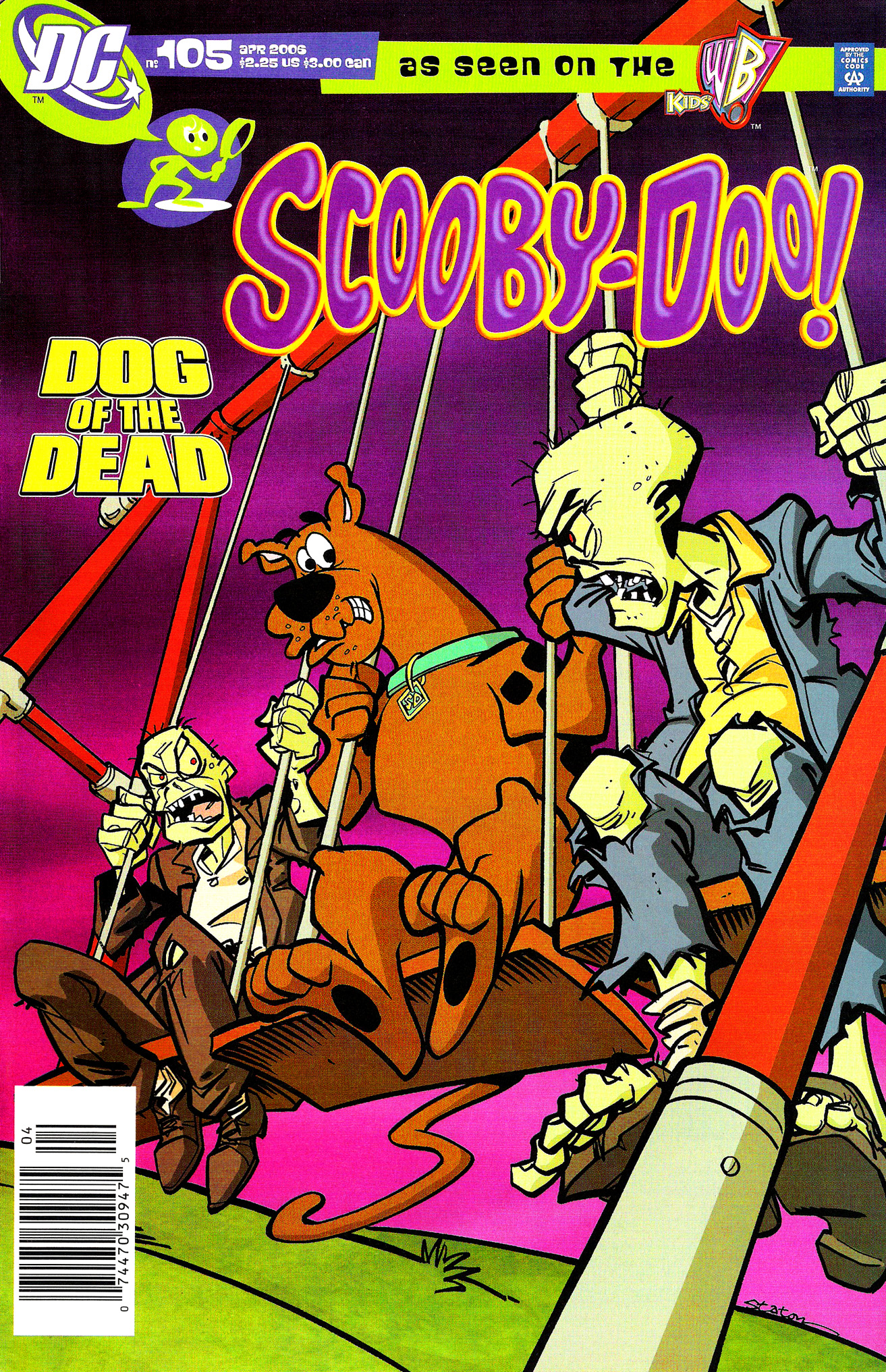 Read online Scooby-Doo (1997) comic -  Issue #105 - 1