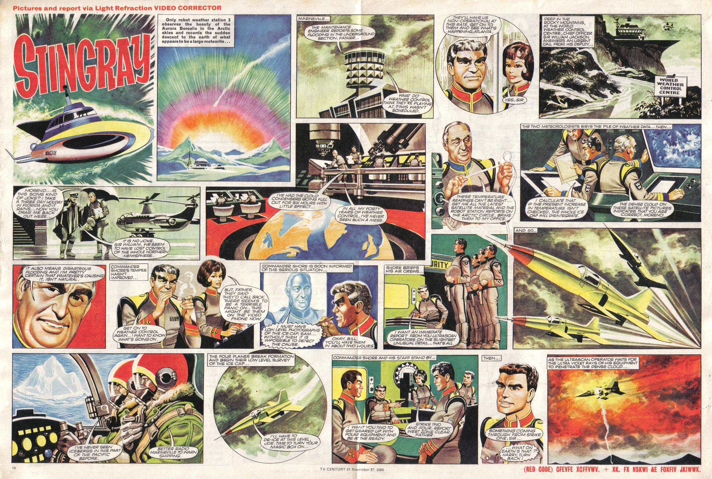 Read online TV Century 21 (TV 21) comic -  Issue #45 - 14