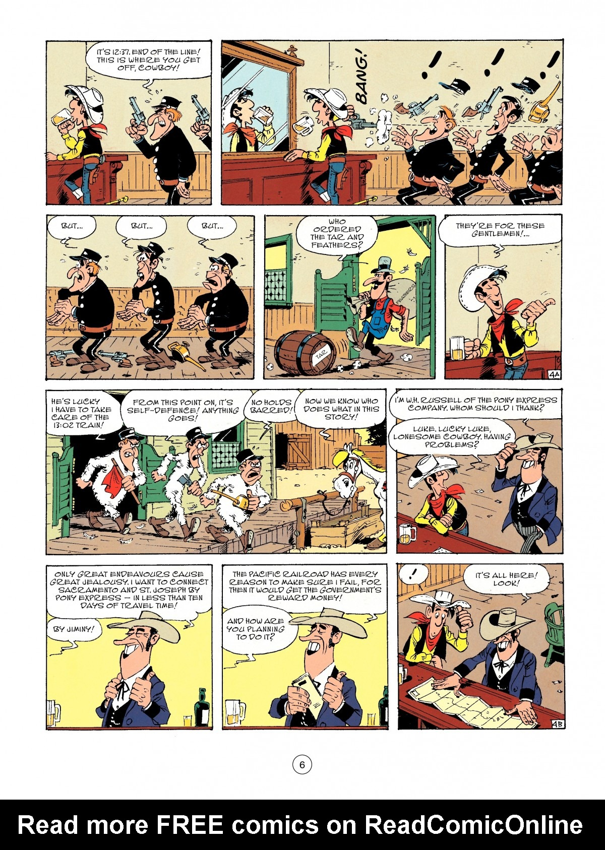 Read online A Lucky Luke Adventure comic -  Issue #46 - 6