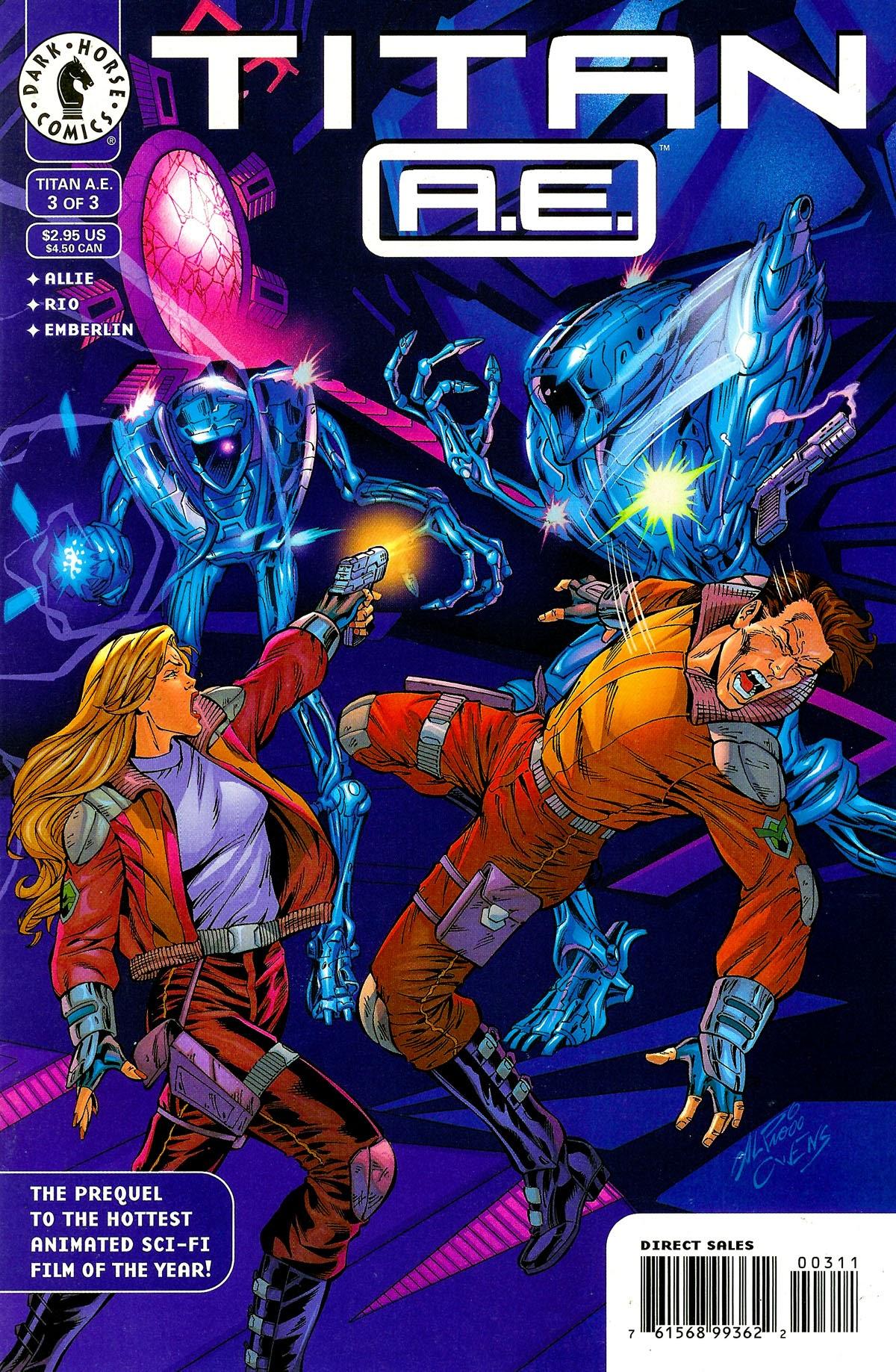 Titan A.E. issue 3 - Page 1