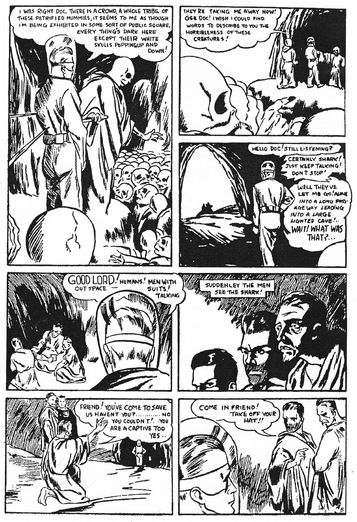 Read online Men of Mystery Comics comic -  Issue #83 - 52