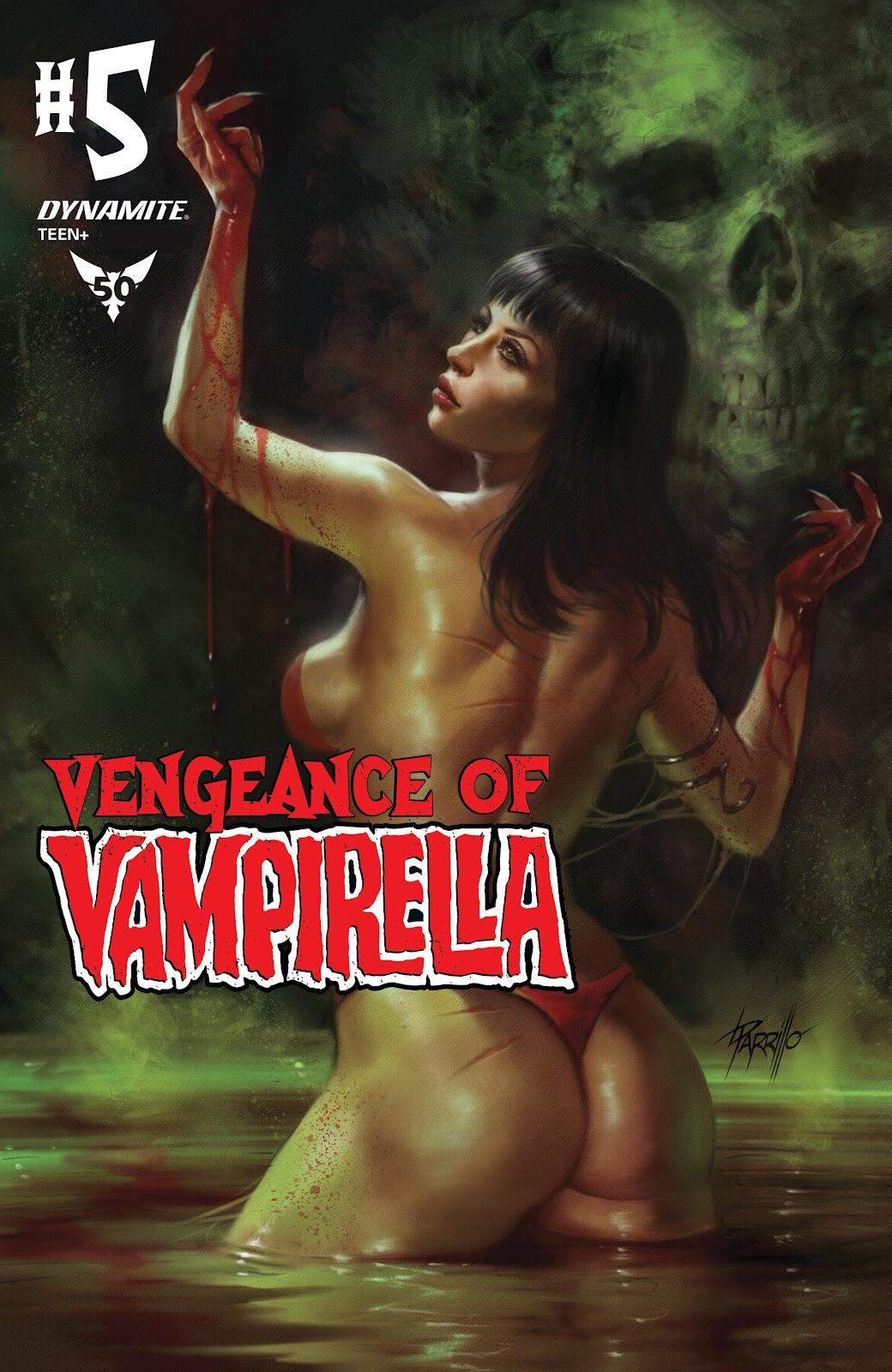 Vengeance of Vampirella (2019) issue 5 - Page 1