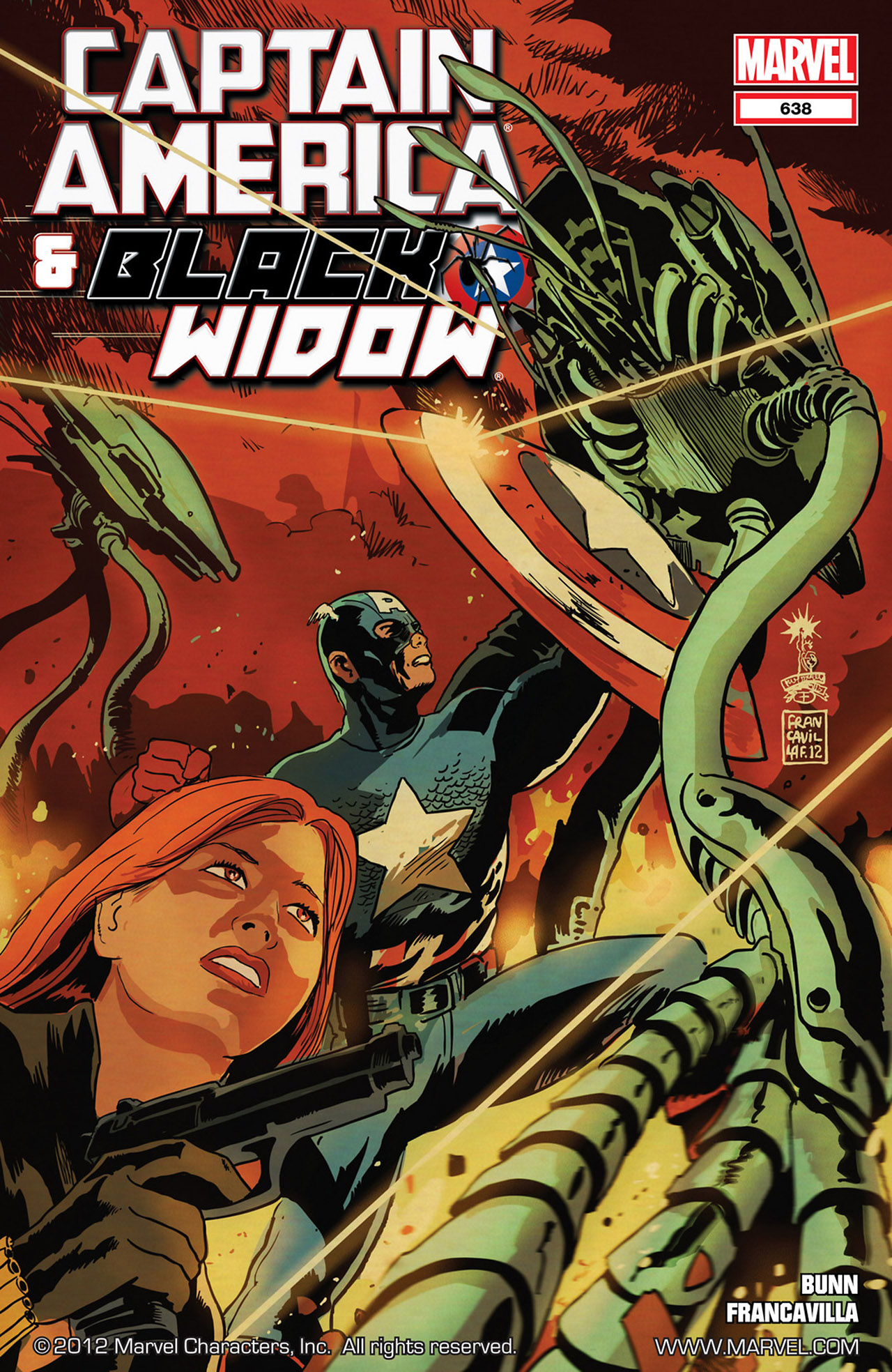 Read online Captain America And Black Widow comic -  Issue #638 - 1